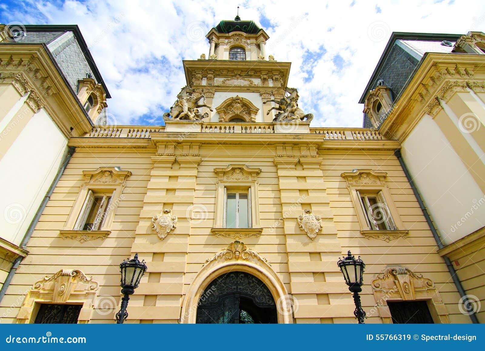 Διάσημο κάστρο σε Keszthely