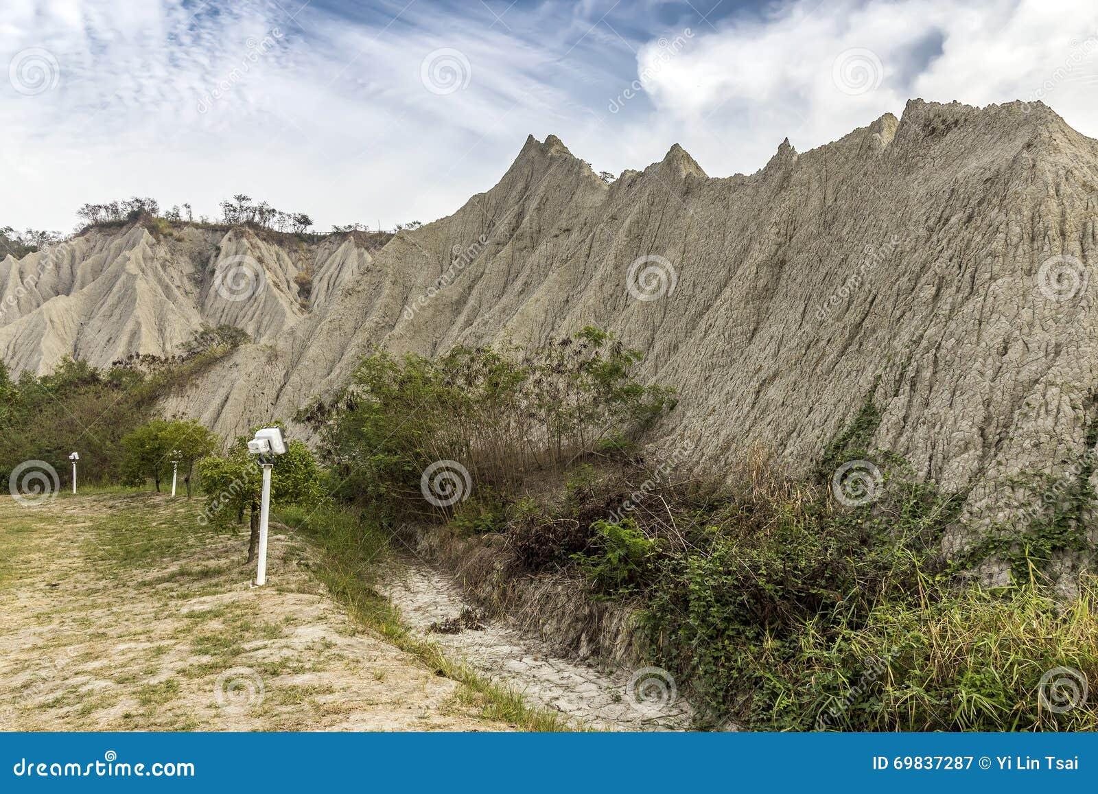 Διάσημο τοπίο της παρόμοιας επιφάνειας φεγγαριών