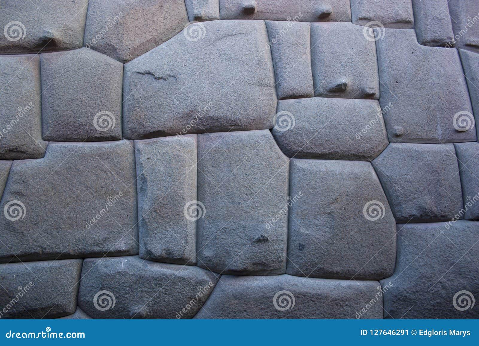 Διάσημο Inca ψάρεψε την πέτρα στον τοίχο Hatun Rumiyoc, ένα archeological χειροποίητο αντικείμενο σε Cuzco, Περού