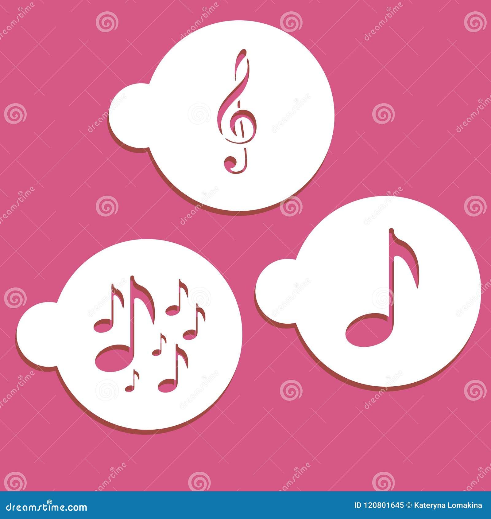 Διάτρητα σημειώσεων μουσικής