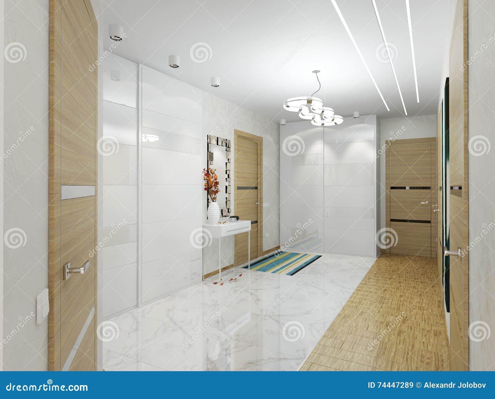Διάδρομος με τις πόρτες