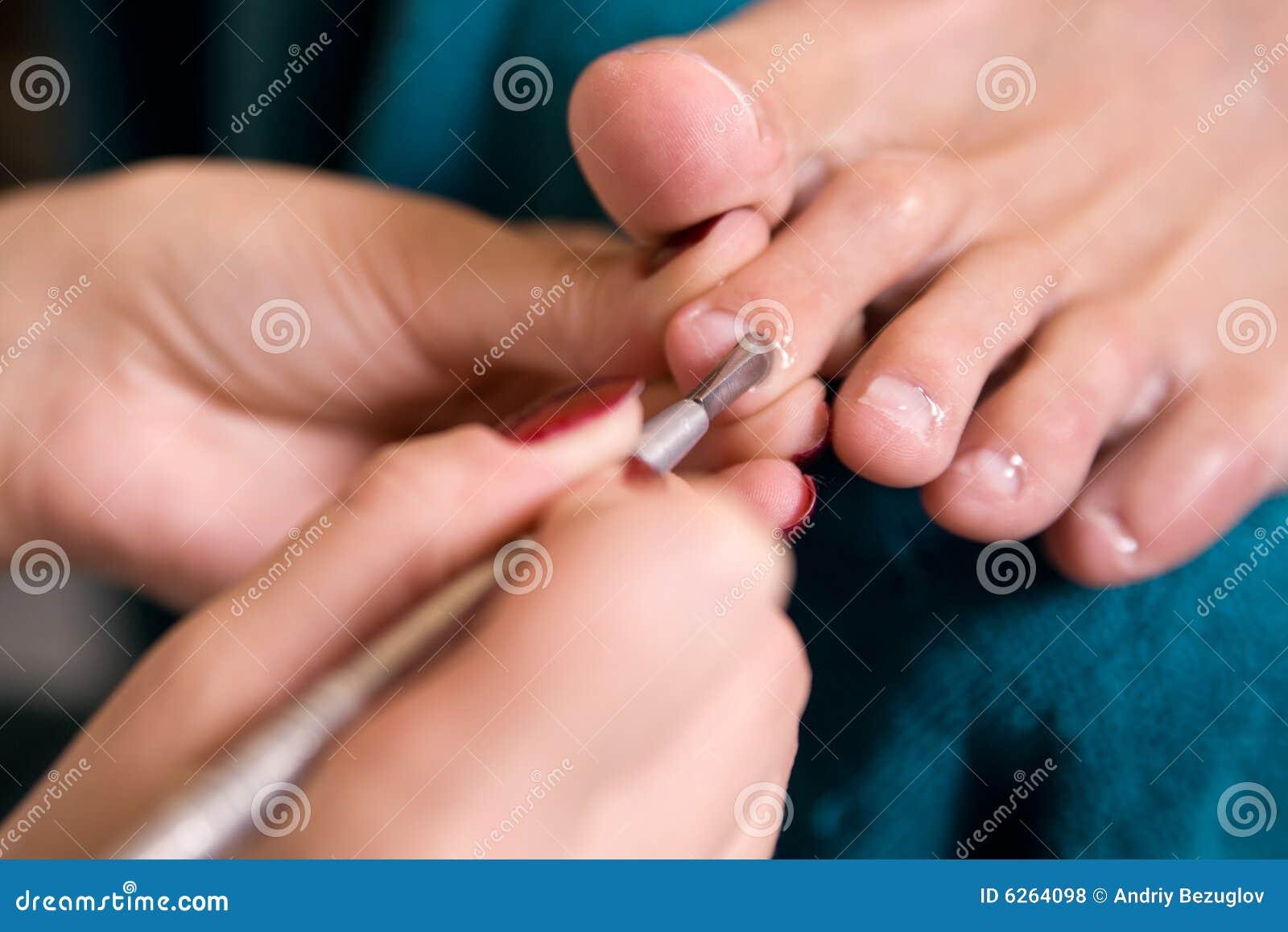 διαδικασία pedicure ατόμων