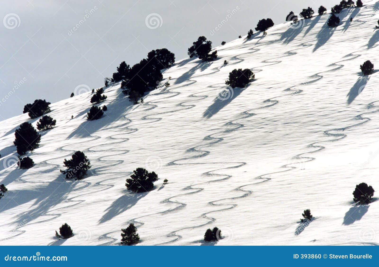 διαδρομές σκι