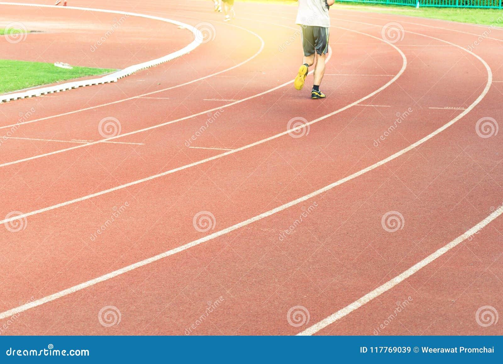 Διαδρομή φυλών τρεξίματος στο αθλητικό στάδιο