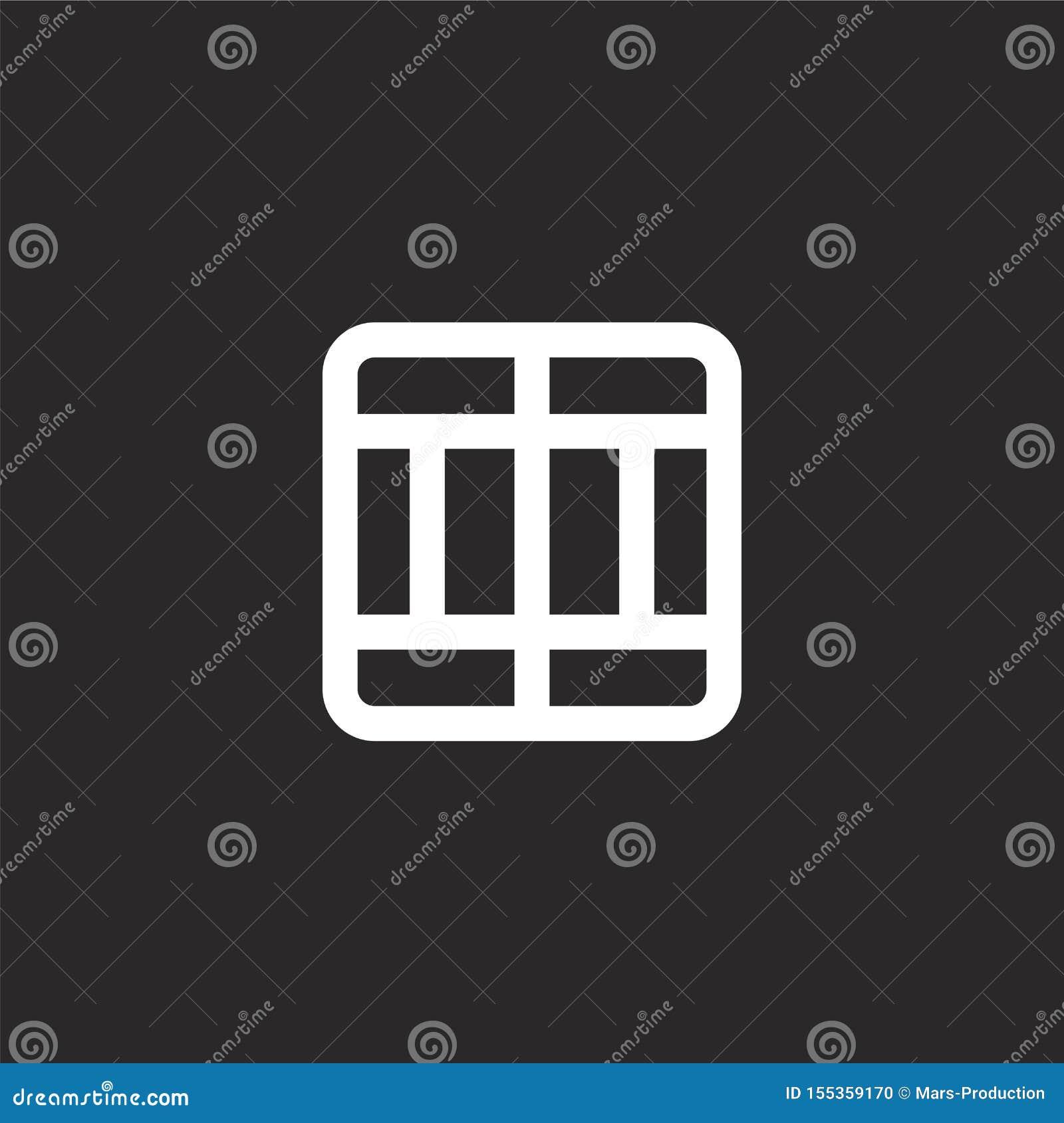 διαιρέστε το εικονίδιο Γεμισμένος διαιρέστε το εικονίδιο για το σχέδιο ιστοχώρου και κινητός, app ανάπτυξη διαιρέστε το εικονίδιο
