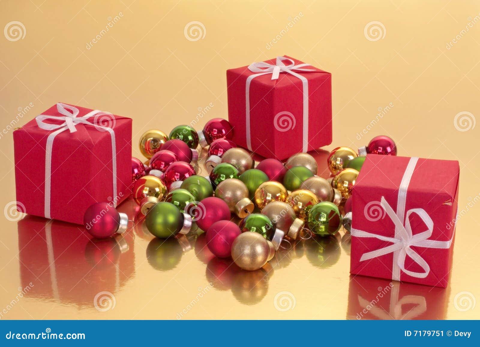 διακοσμήσεις δώρων Χριστουγέννων