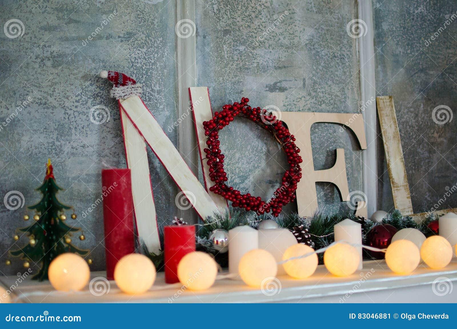 Διακοσμήσεις Χριστουγέννων με Noel