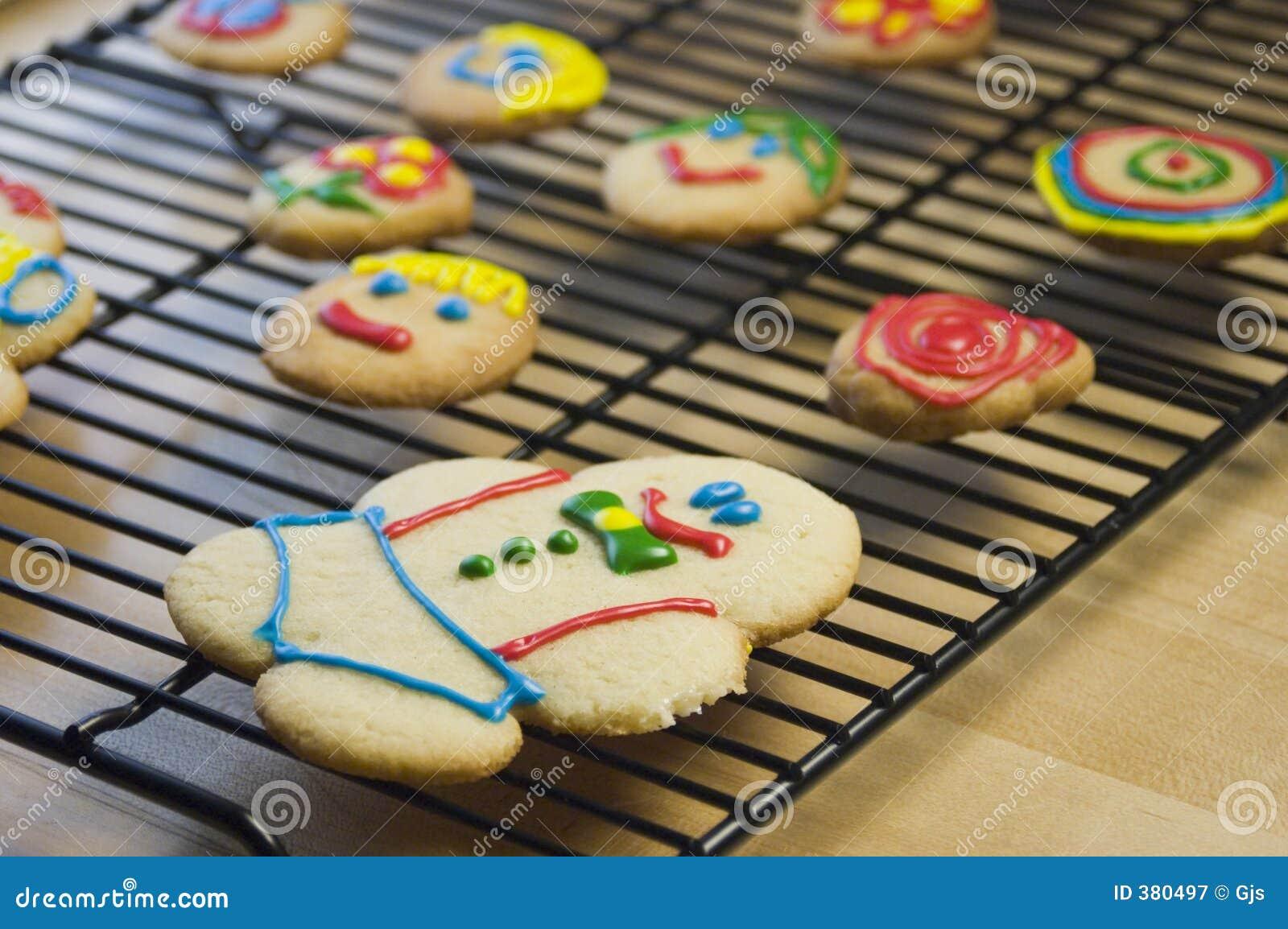 διακοσμημένη μπισκότα ζάχα&r