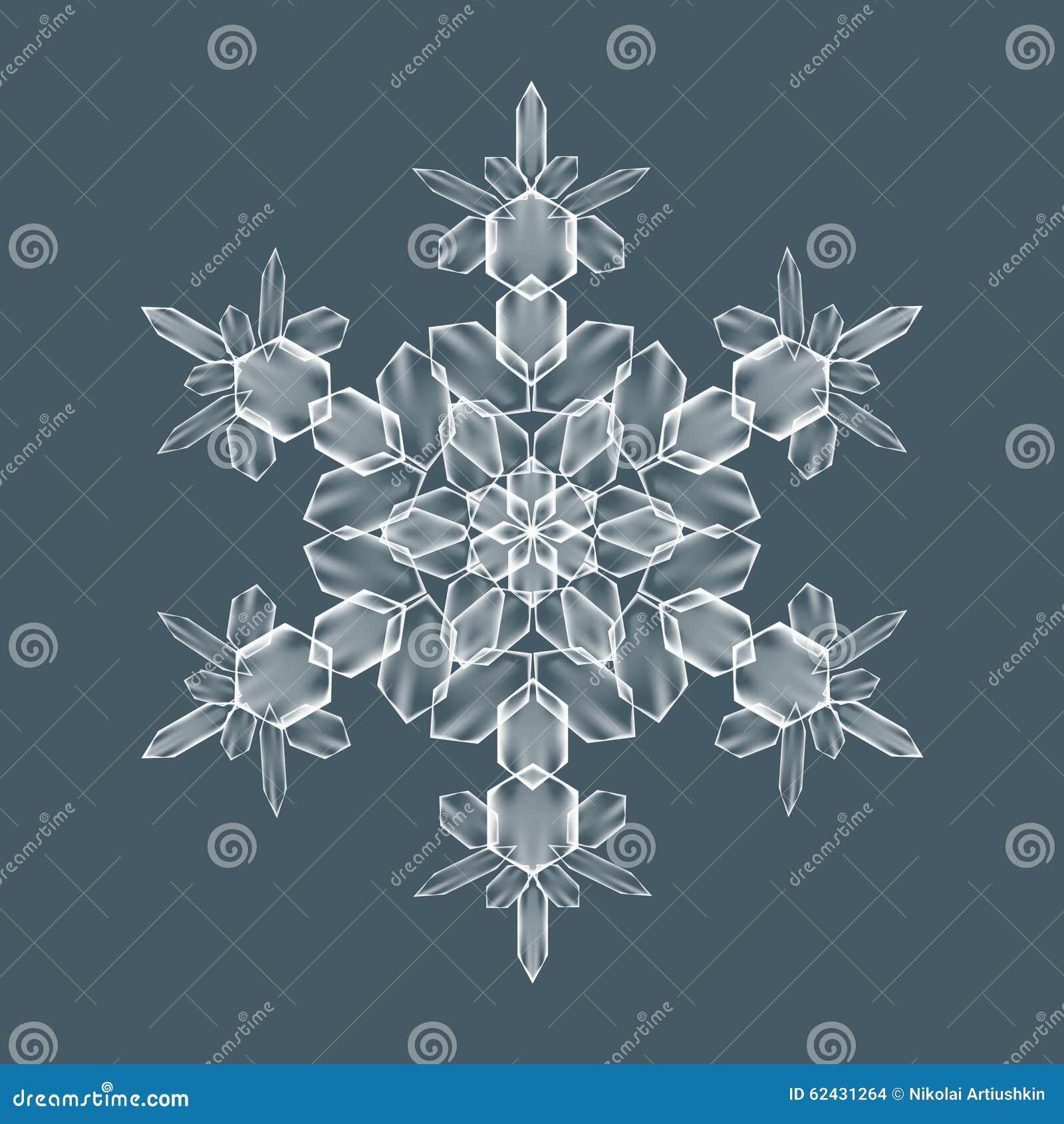 Διακοσμητική νιφάδα χιονιού