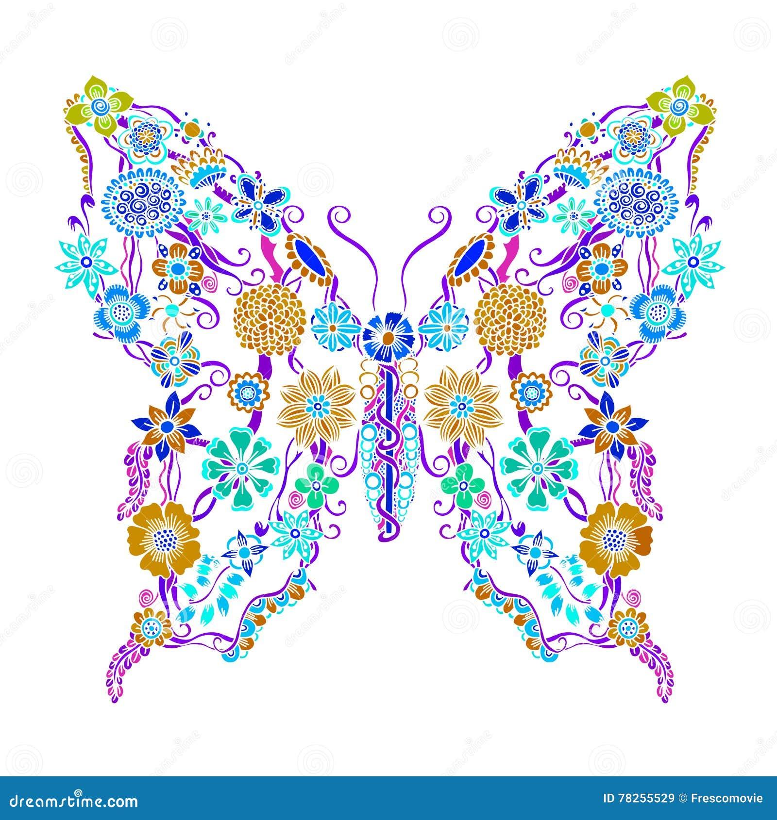 Διακοσμητική περίκομψη πεταλούδα