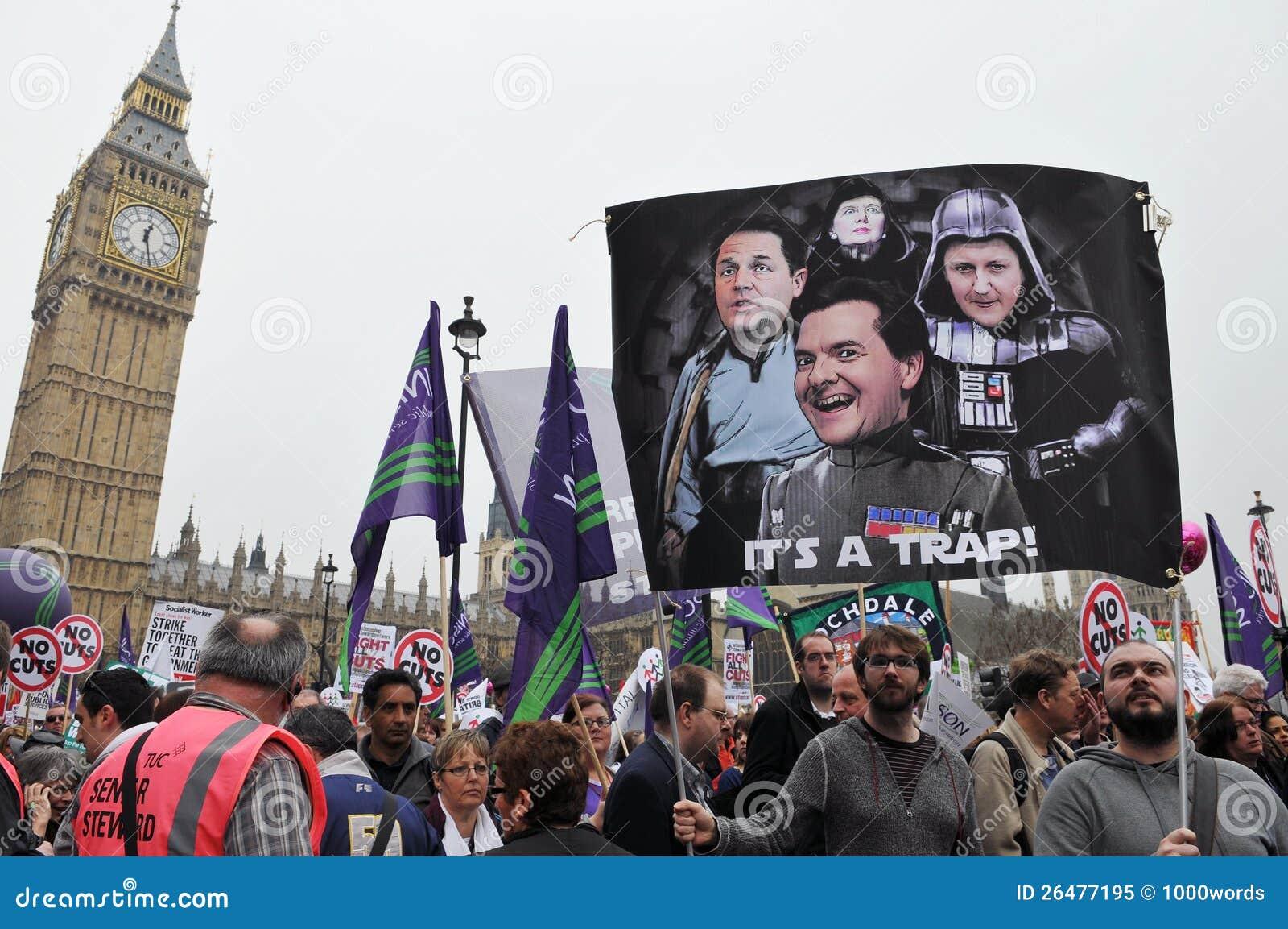 Διαμαρτυρία αυστηρότητας του Λονδίνου