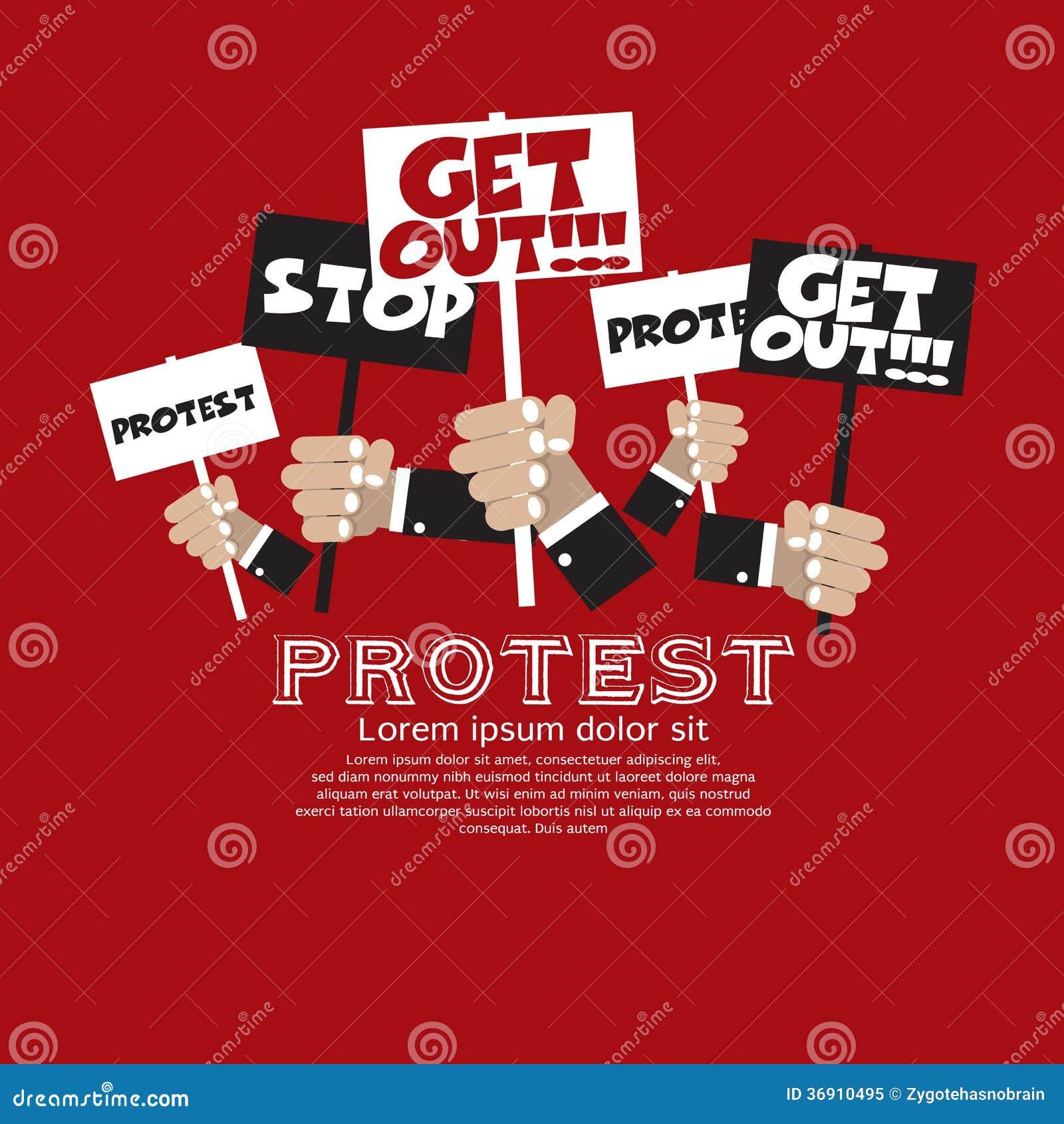Διαμαρτυρία.
