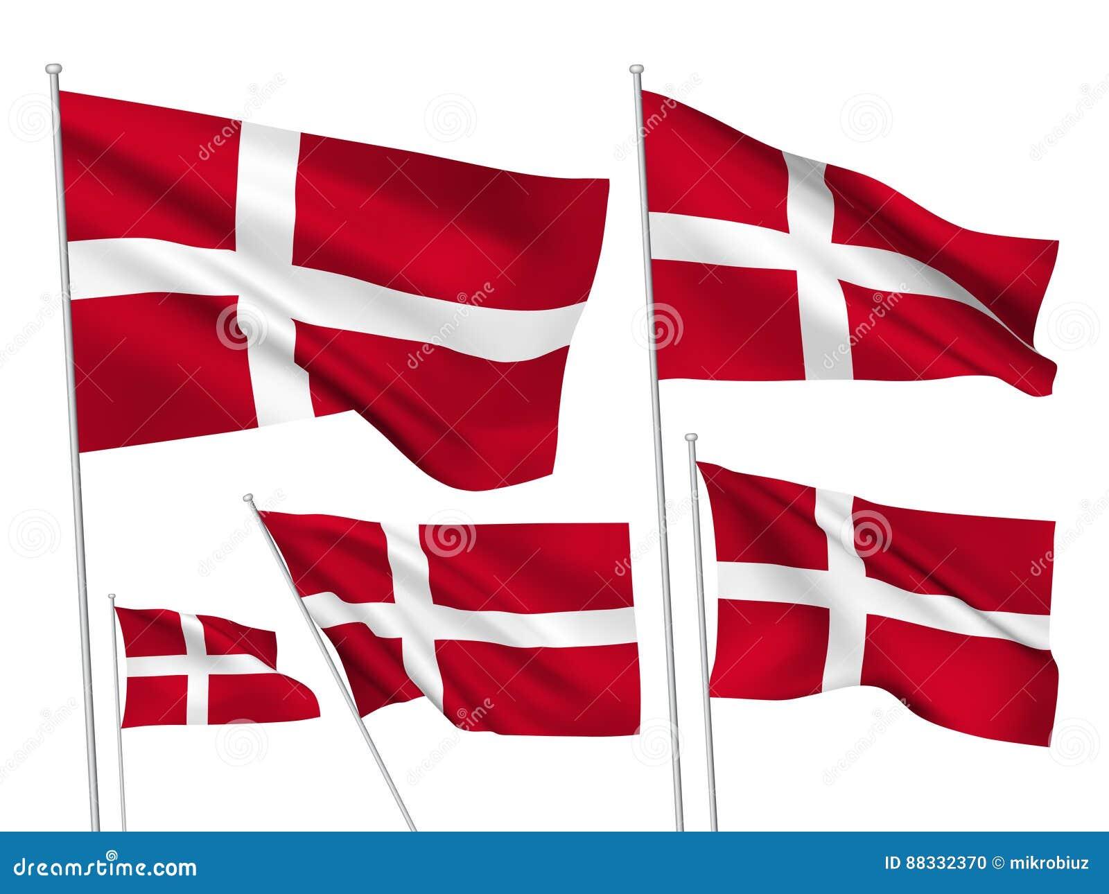 Διανυσματικές σημαίες της Δανίας