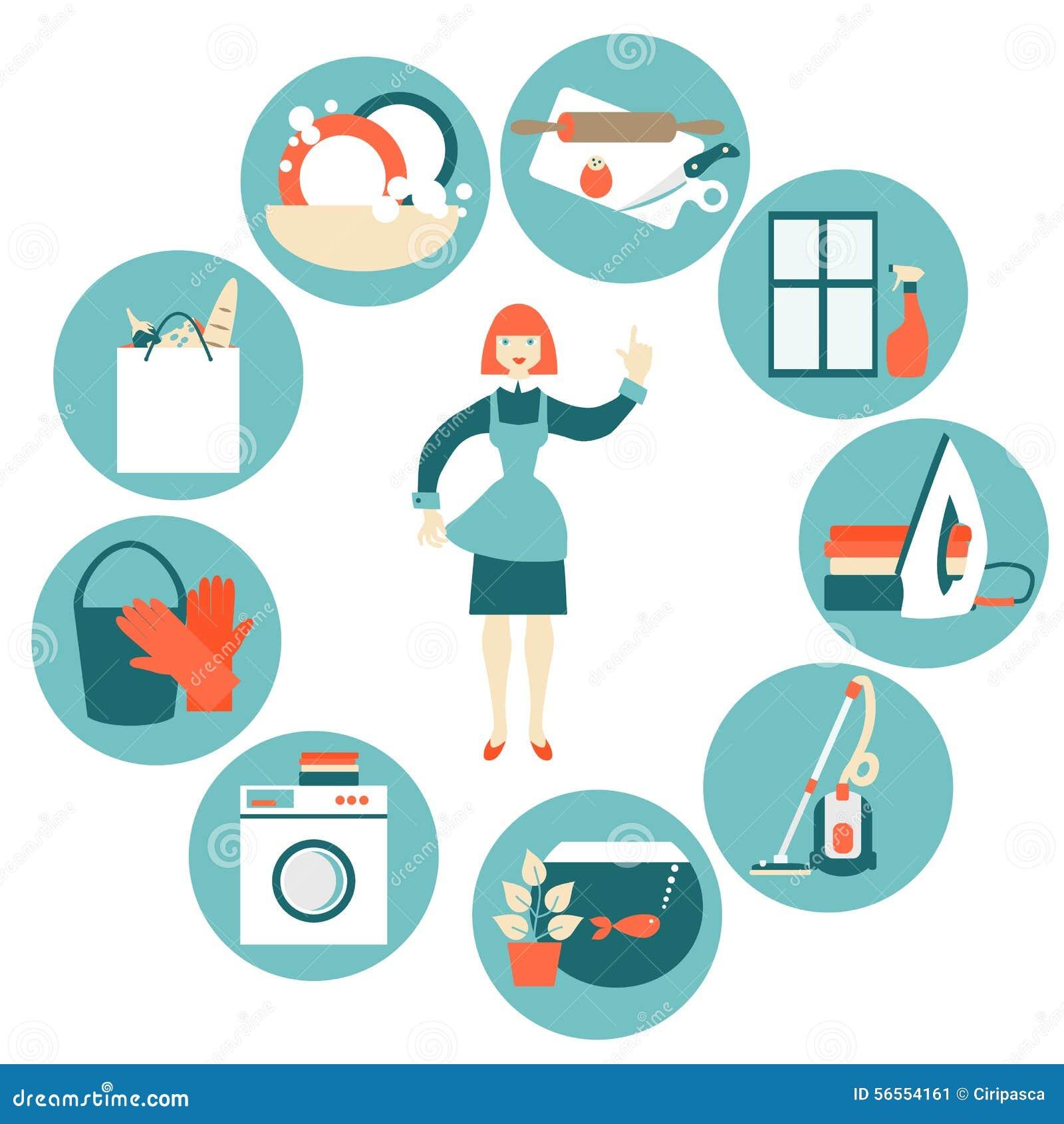 Download Διανυσματική απεικόνιση έννοιας εργασίας σπιτιών Διανυσματική απεικόνιση - εικονογραφία από μηχανή, σπίτι: 56554161