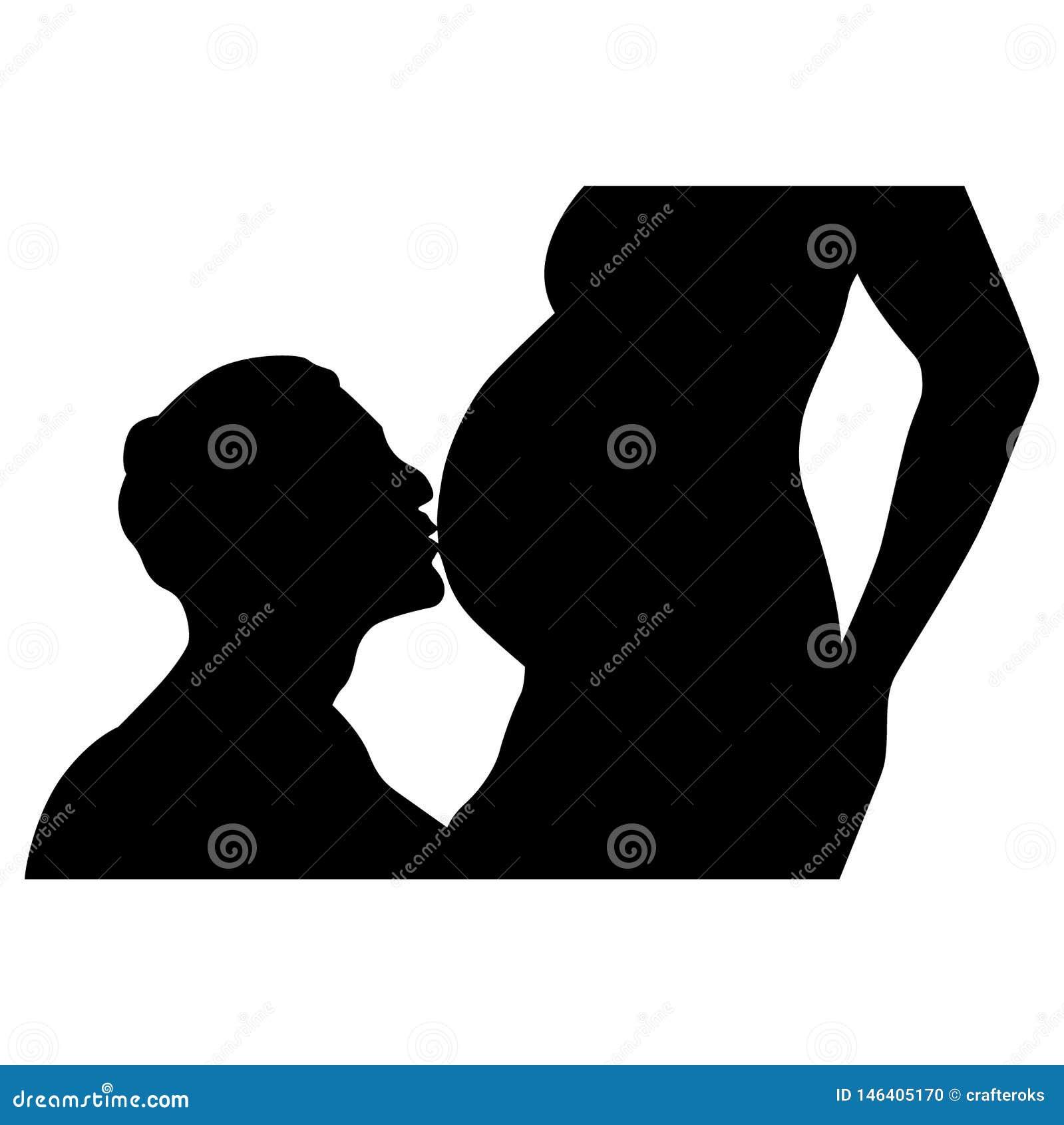 Διανυσματική απεικόνιση εγκύων γυναικών από τα crafteroks