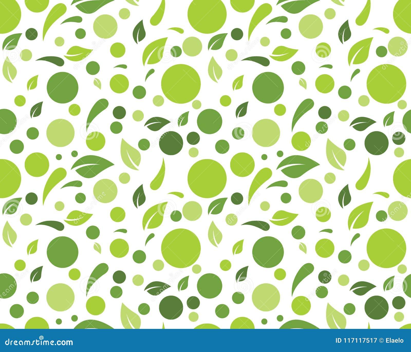 Διανυσματική απεικόνιση υποβάθρου φύλλων φύσης Eco