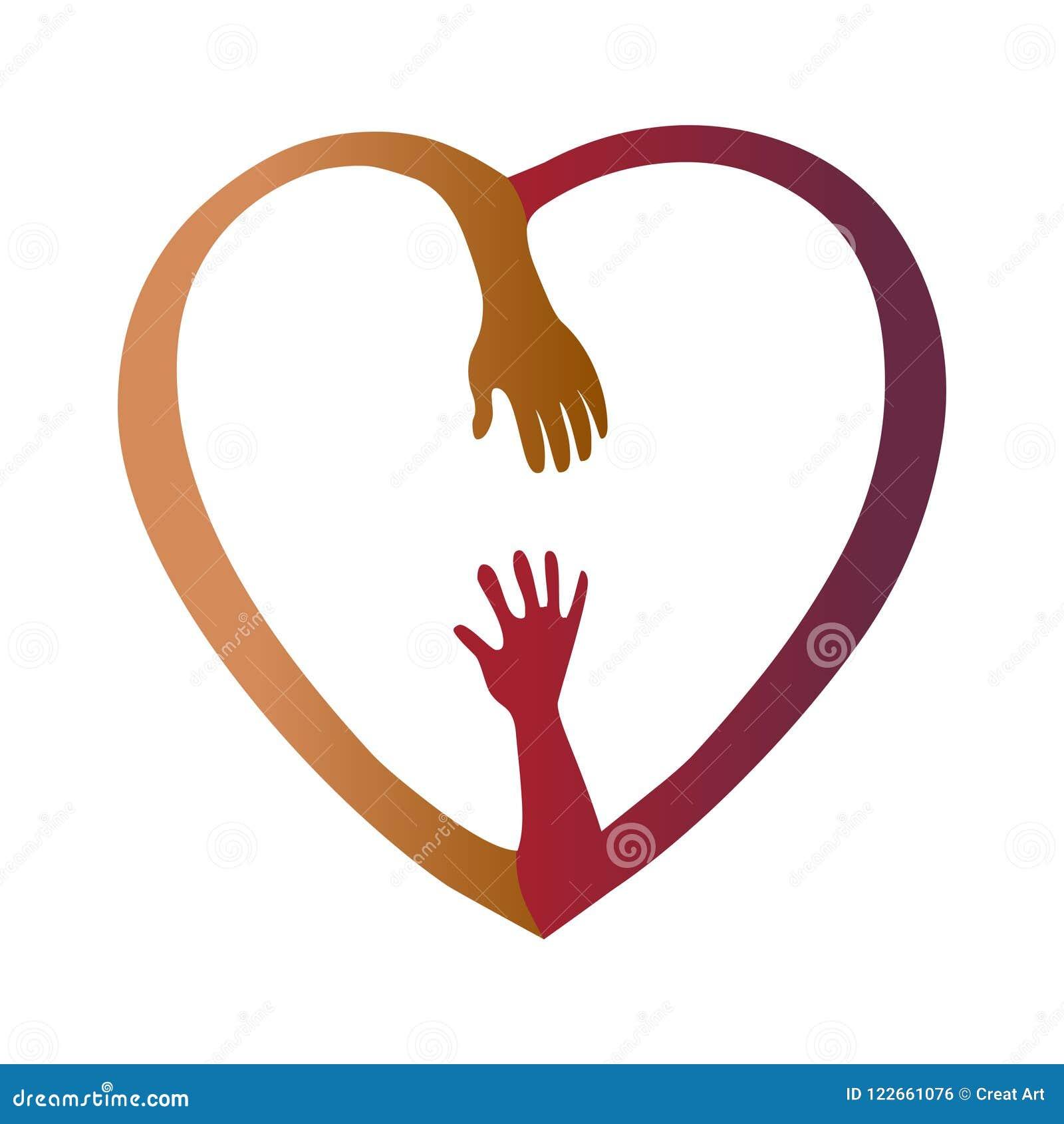 Διανυσματική απεικόνιση χεριών βοηθείας