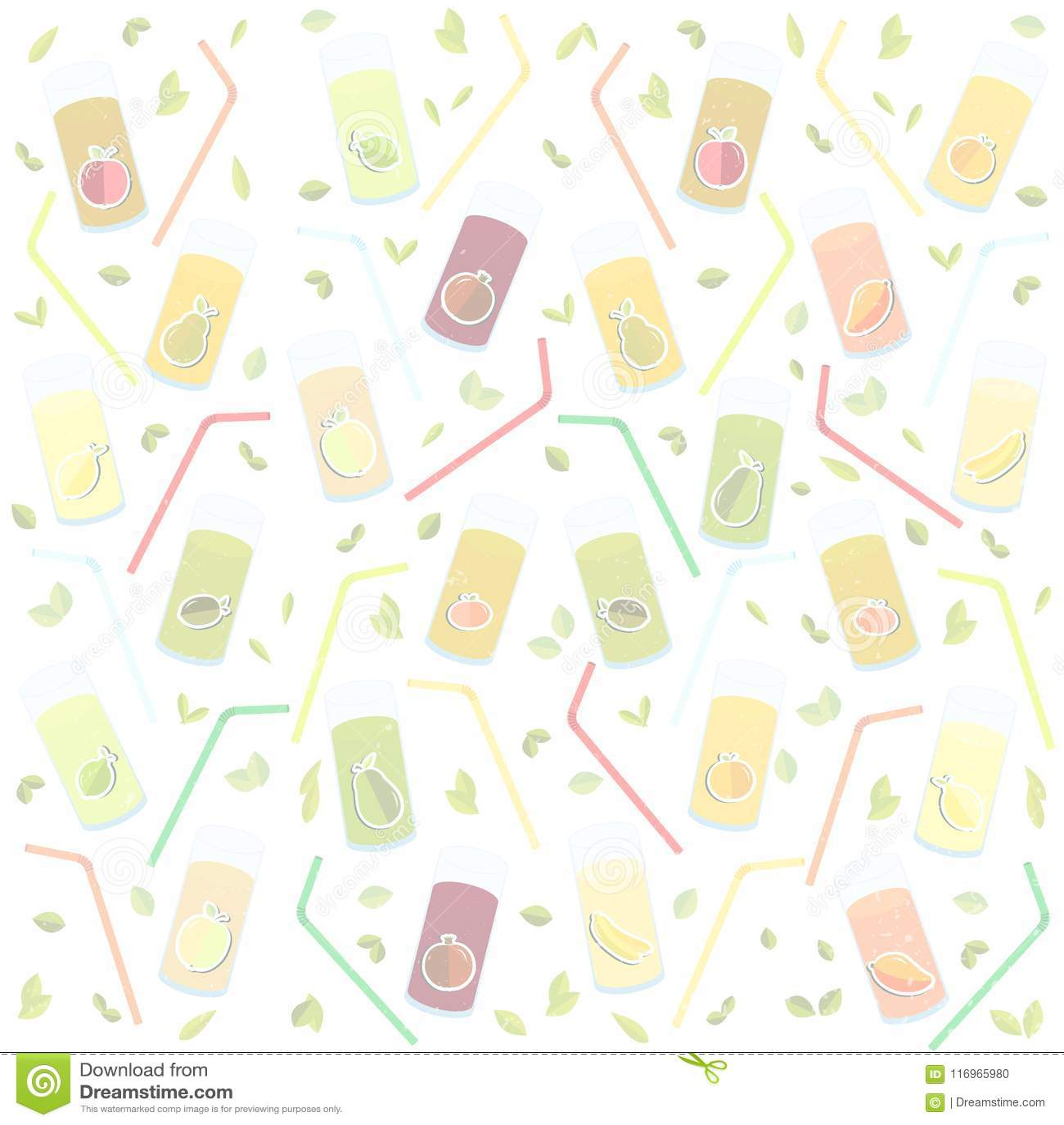Διανυσματική ημέρα παγκόσμιας υγείας γραφικής παράστασης στα κατασκευασμένα γυαλιά υποβάθρου για το χυμό, χυμός, άχυρο, φρούτα, μ