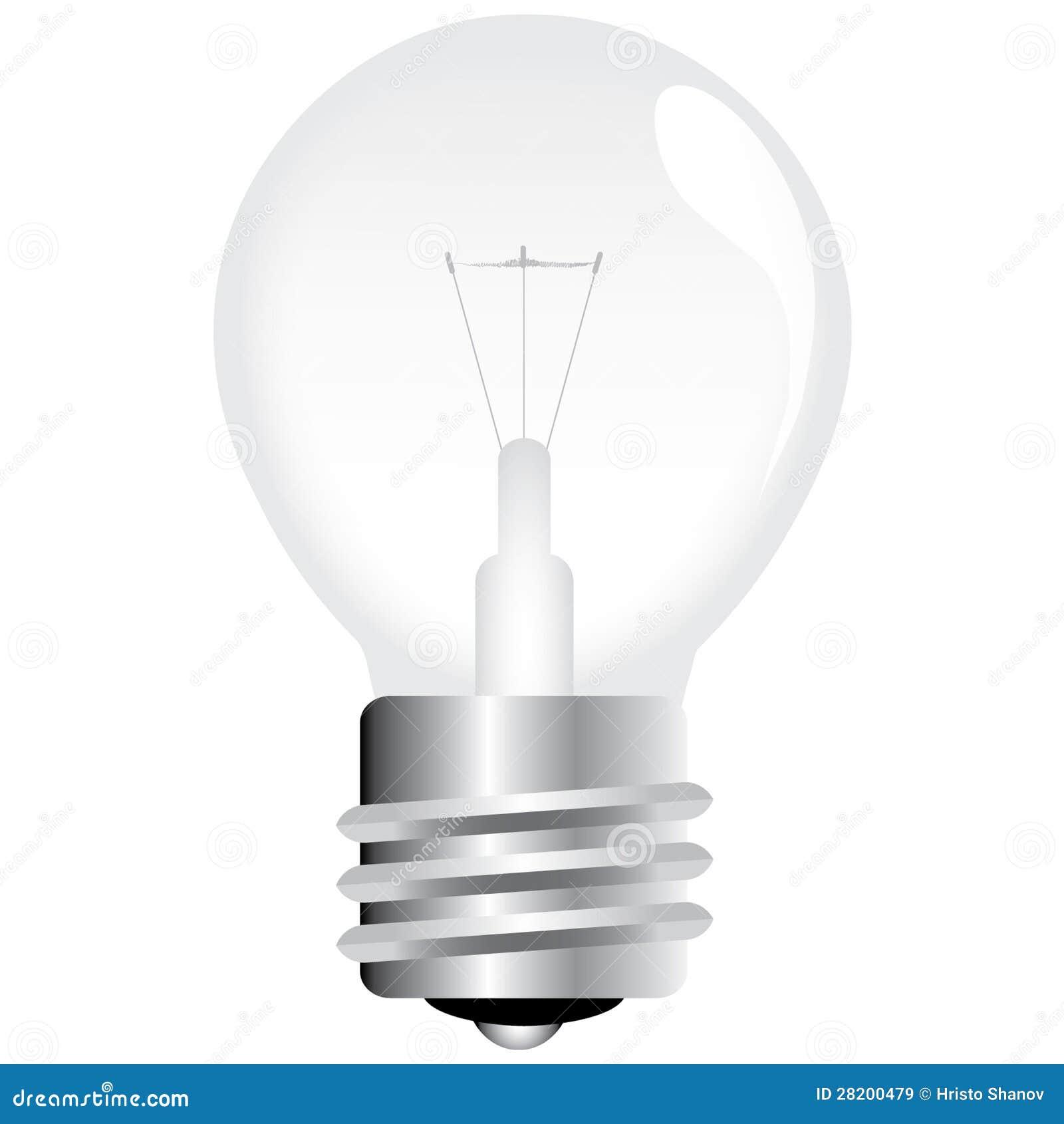 Διανυσματική λάμπα φωτός