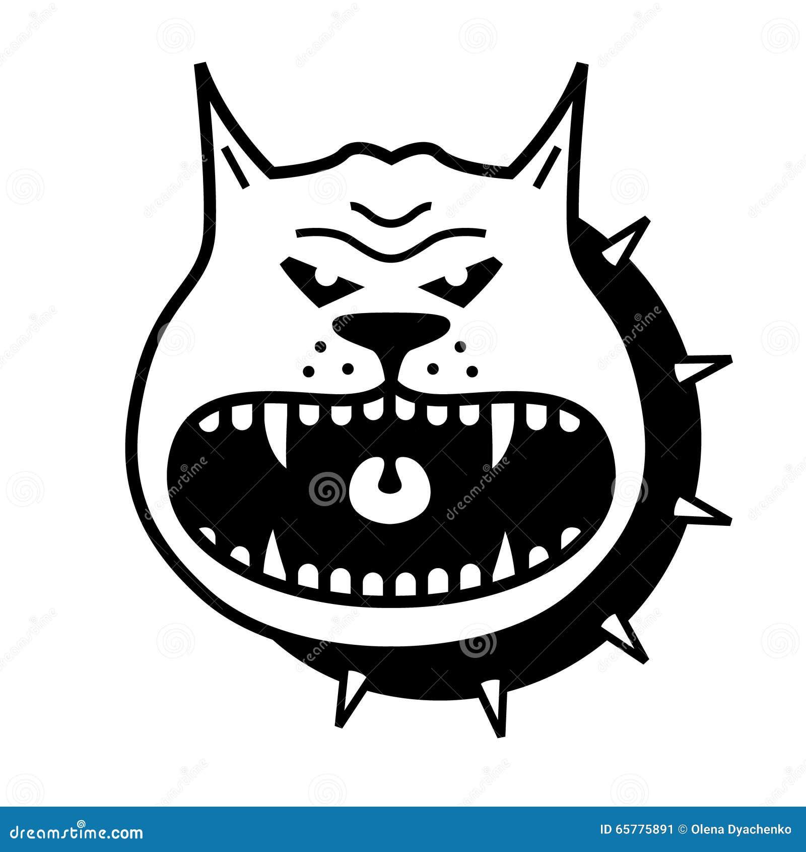 Διανυσματική μορφή σκυλιών
