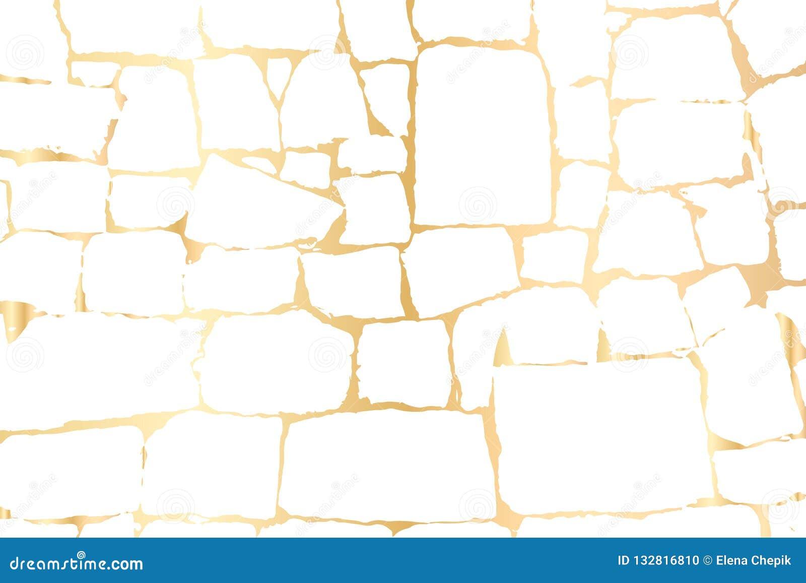 Διανυσματική χρυσή σύσταση grunge που απομονώνεται στο Μαύρο Χρυσό υπόβαθρο γρατσουνιών όρφνωσης