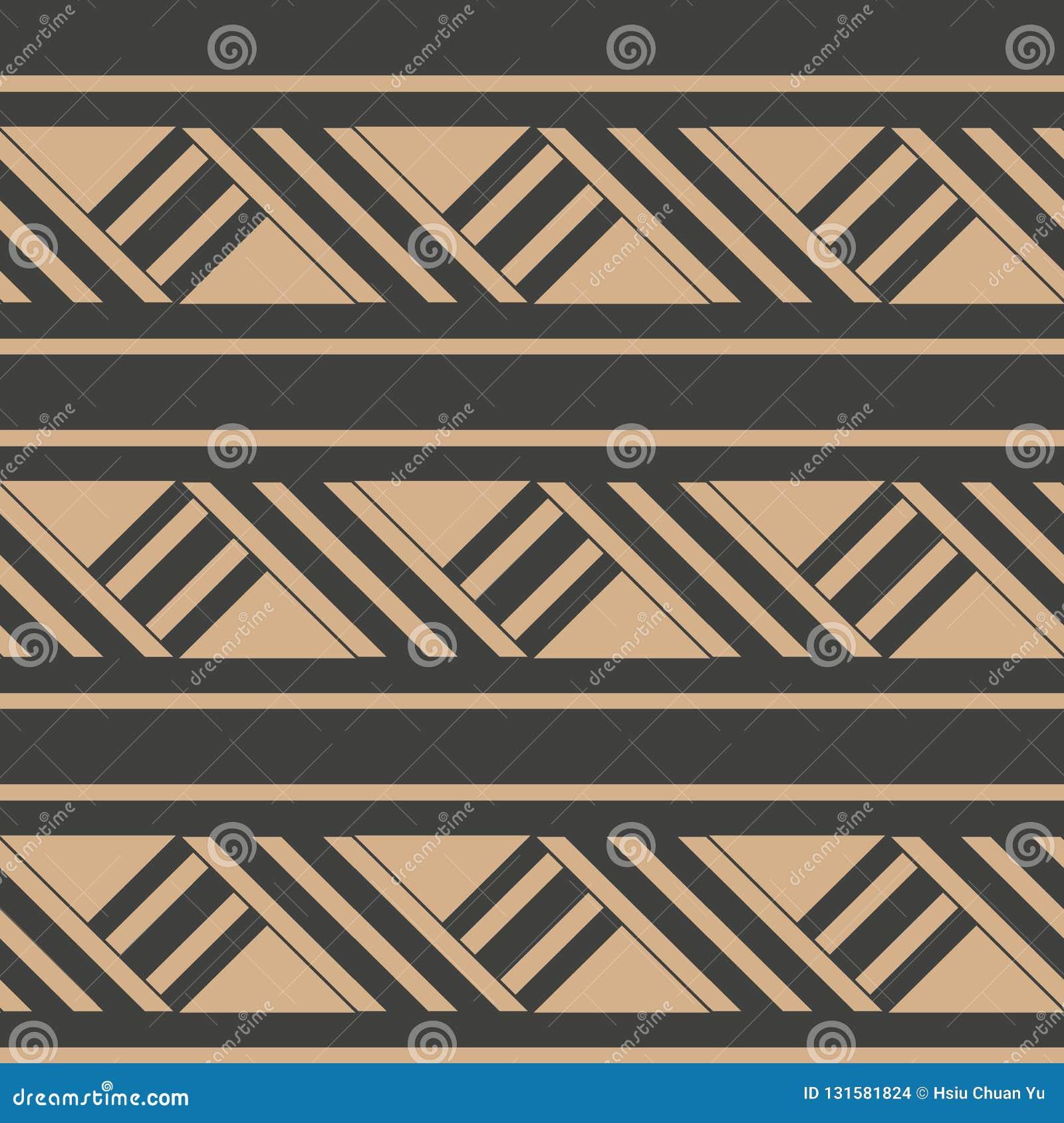 Διανυσματική damask άνευ ραφής αναδρομική σχεδίων υποβάθρου γραμμή πλαισίων γεωμετρίας τριγώνων διαγώνια Κομψό σχέδιο τόνου πολυτ