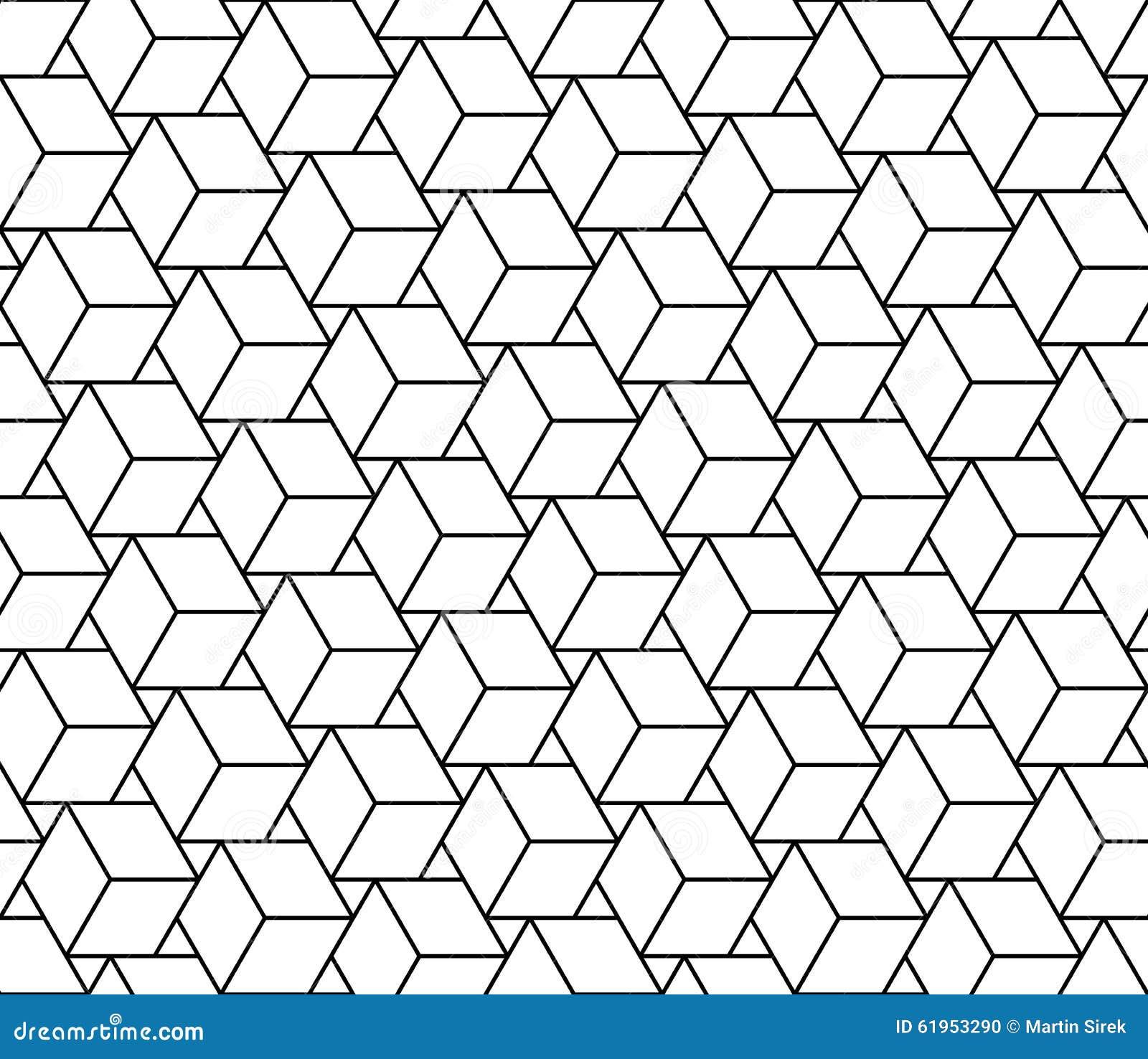 Διανυσματικοί σύγχρονοι άνευ ραφής κύβοι σχεδίων γεωμετρίας, γραπτή περίληψη