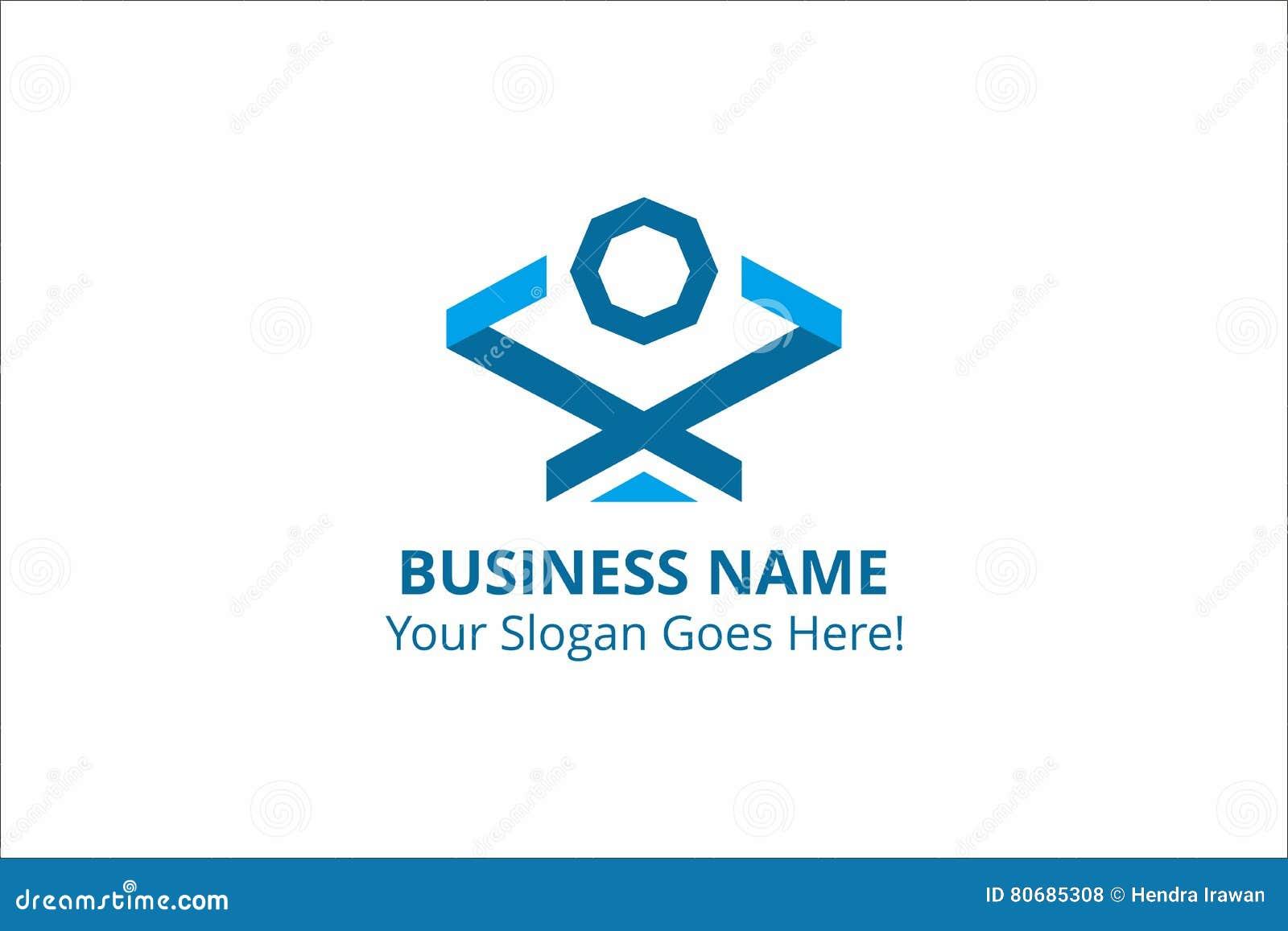 Διανυσματικός γραφικός πόρος προτύπων οικοδόμησης επιχειρησιακών λογότυπων