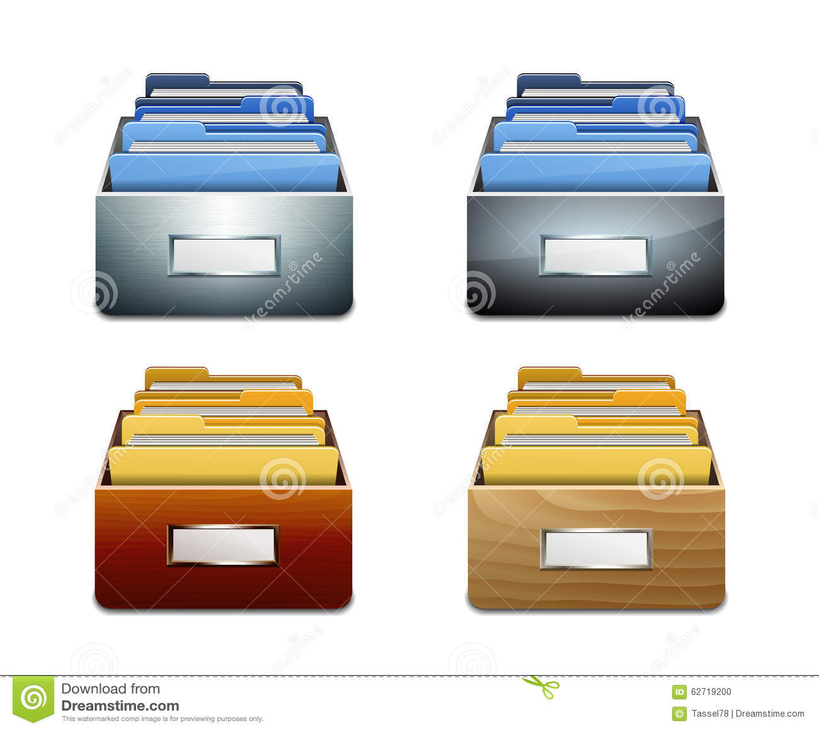 Διανυσματικό εικονίδιο του διαχειρηστή αρχείων με τα έγγραφα
