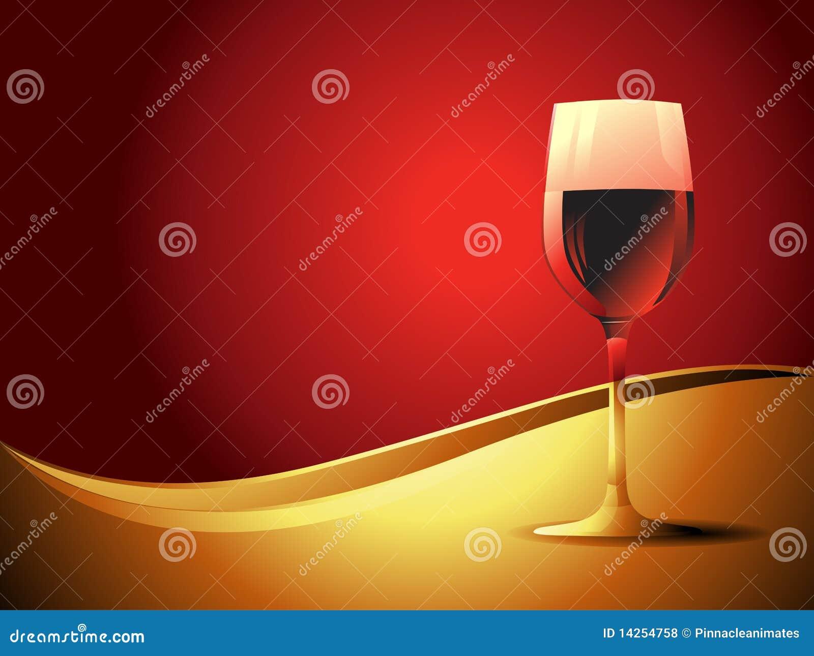 διανυσματικό κρασί γυαλ
