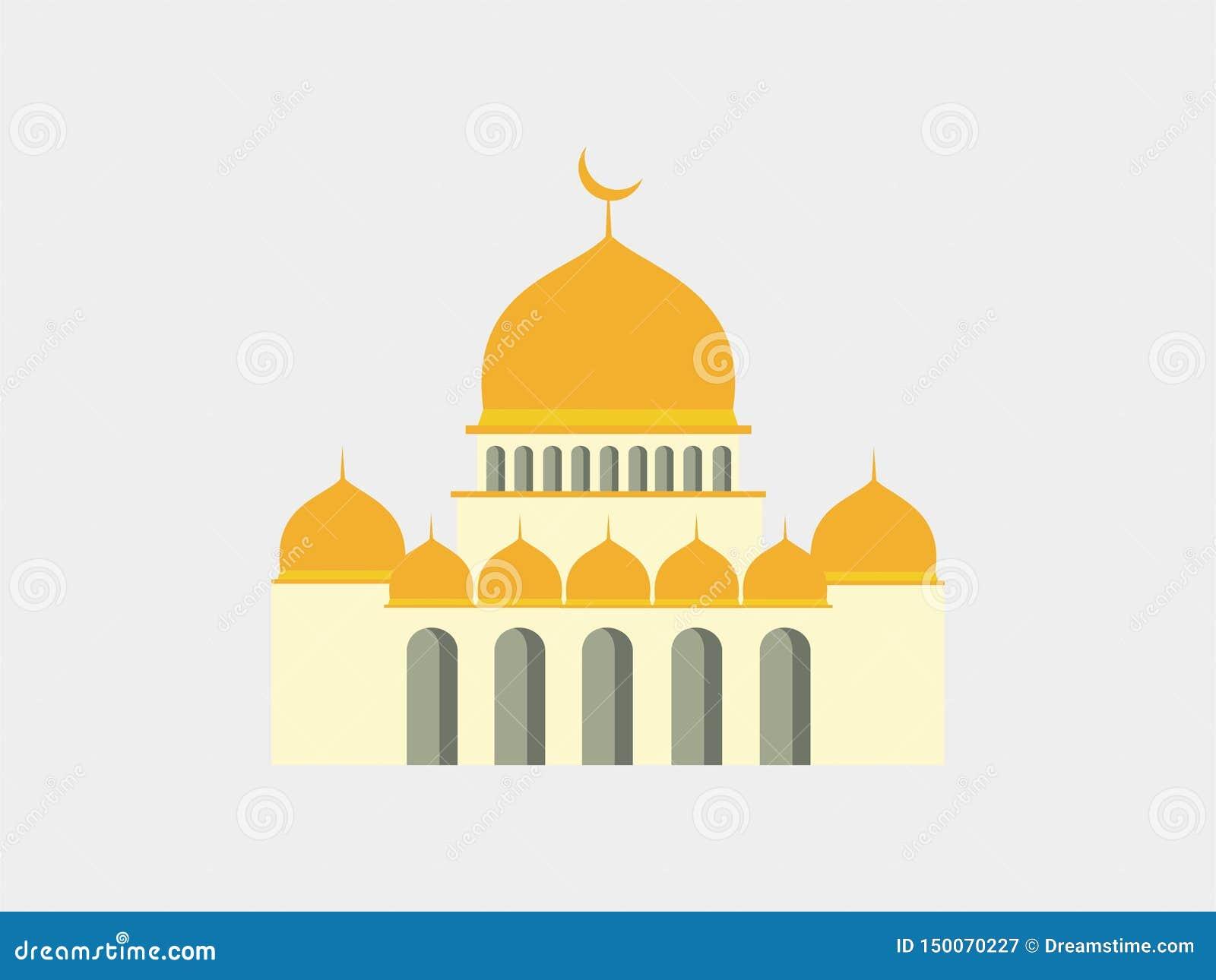 Διανυσματικό μουσουλμανικό τέμενος