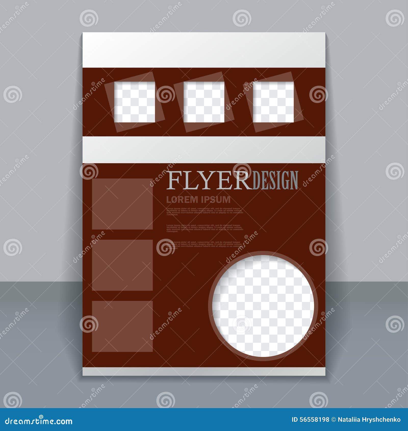 Download Διανυσματικό πρότυπο ιπτάμενων για το σχέδιο Διανυσματική απεικόνιση - εικονογραφία από σχέδιο, κάλυψη: 56558198