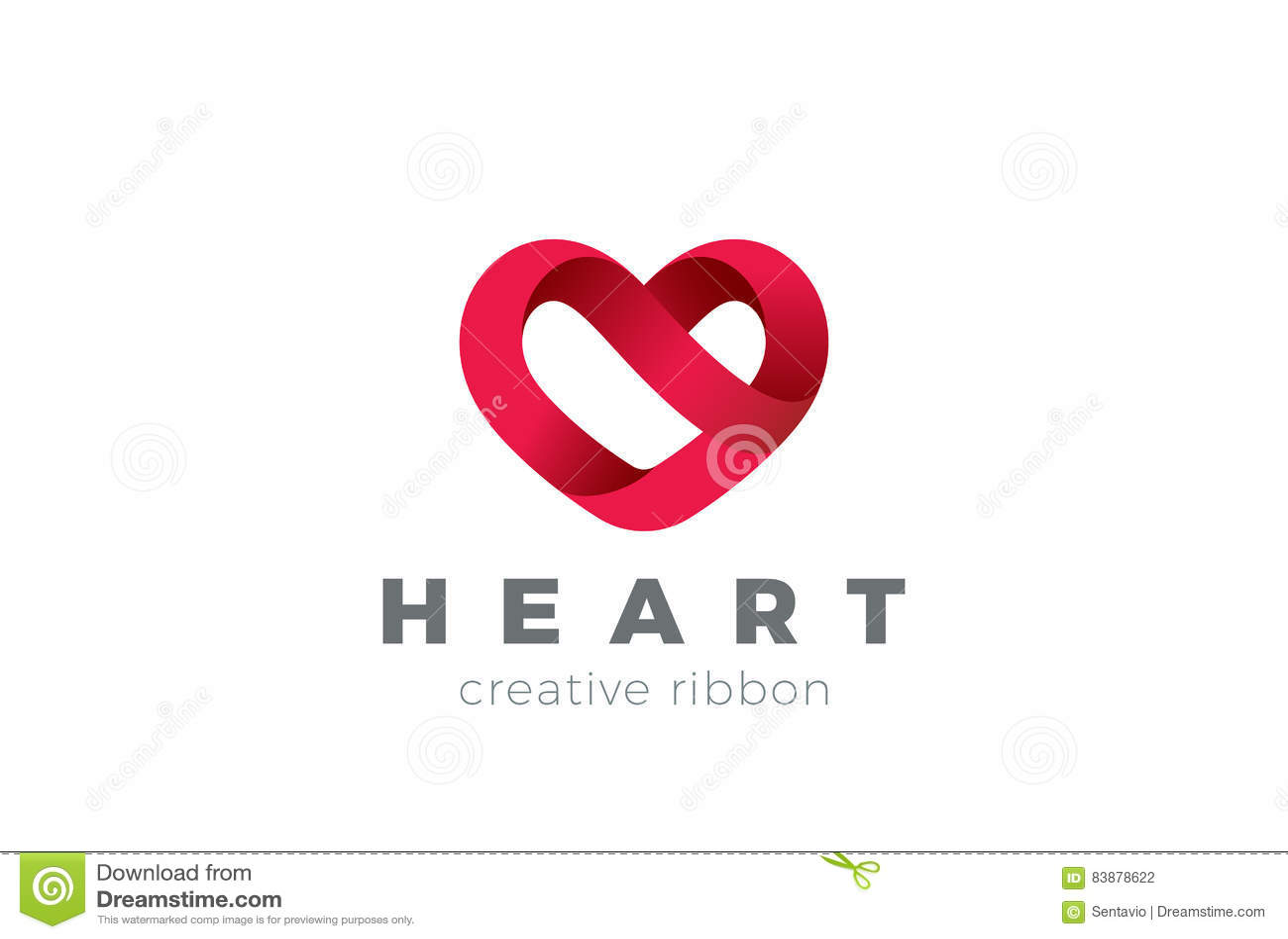 Διανυσματικό πρότυπο σχεδίου λογότυπων καρδιών Ημέρα βαλεντίνων του ST του συμβόλου αγάπης Ιατρικό εικονίδιο έννοιας Logotype υγε