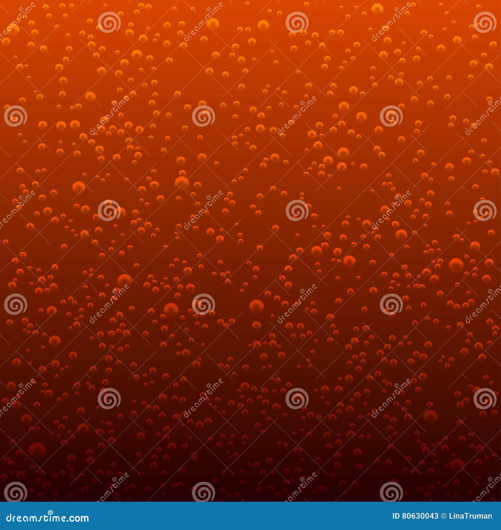 Διανυσματικό υπόβαθρο των φυσαλίδων κόλας σπινθήρισμα φυσαλίδων