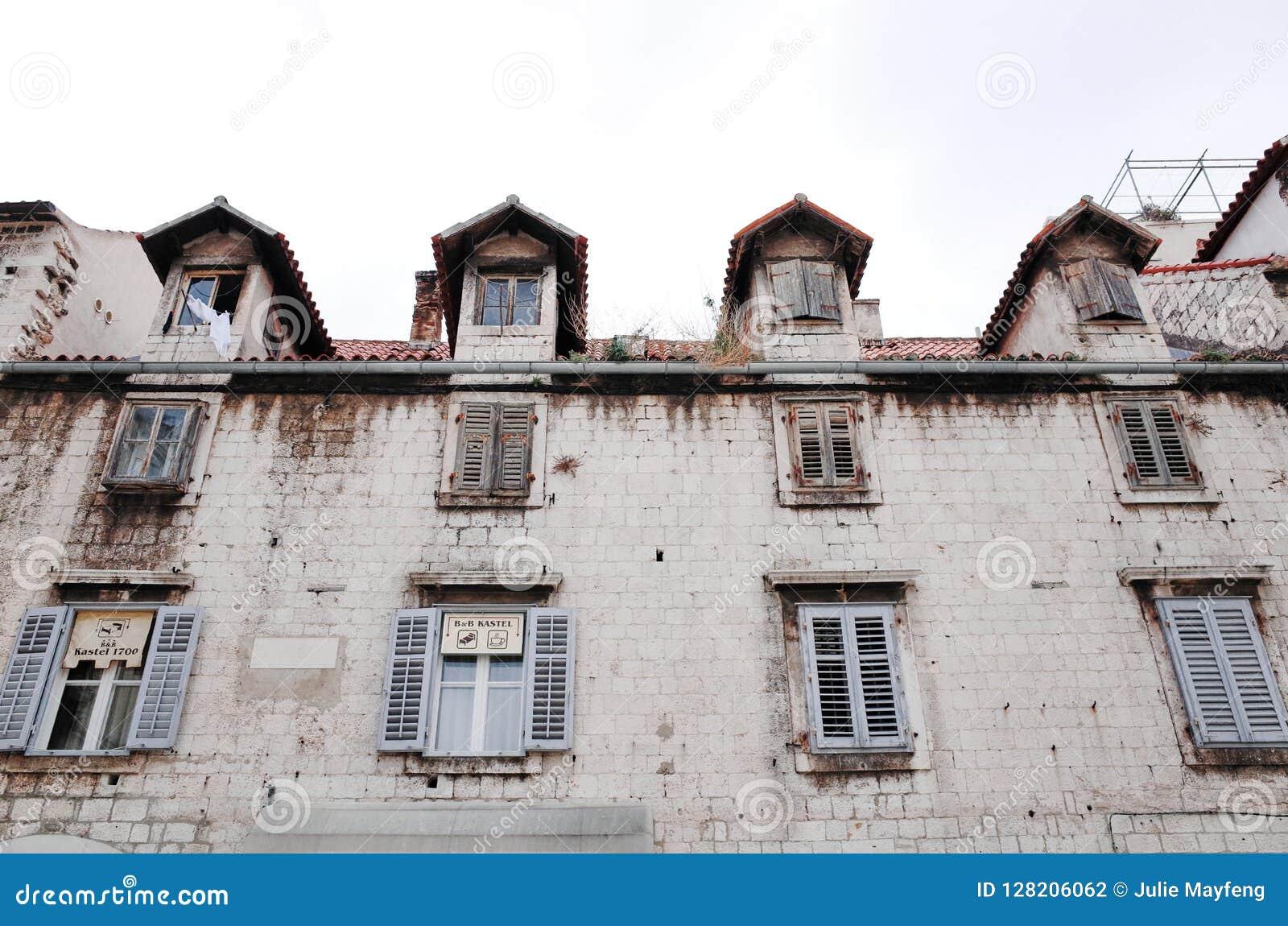 Διασπασμένη παλαιά πόλη ` s, ΔΙΆΣΠΑΣΗ, ΚΡΟΑΤΊΑ