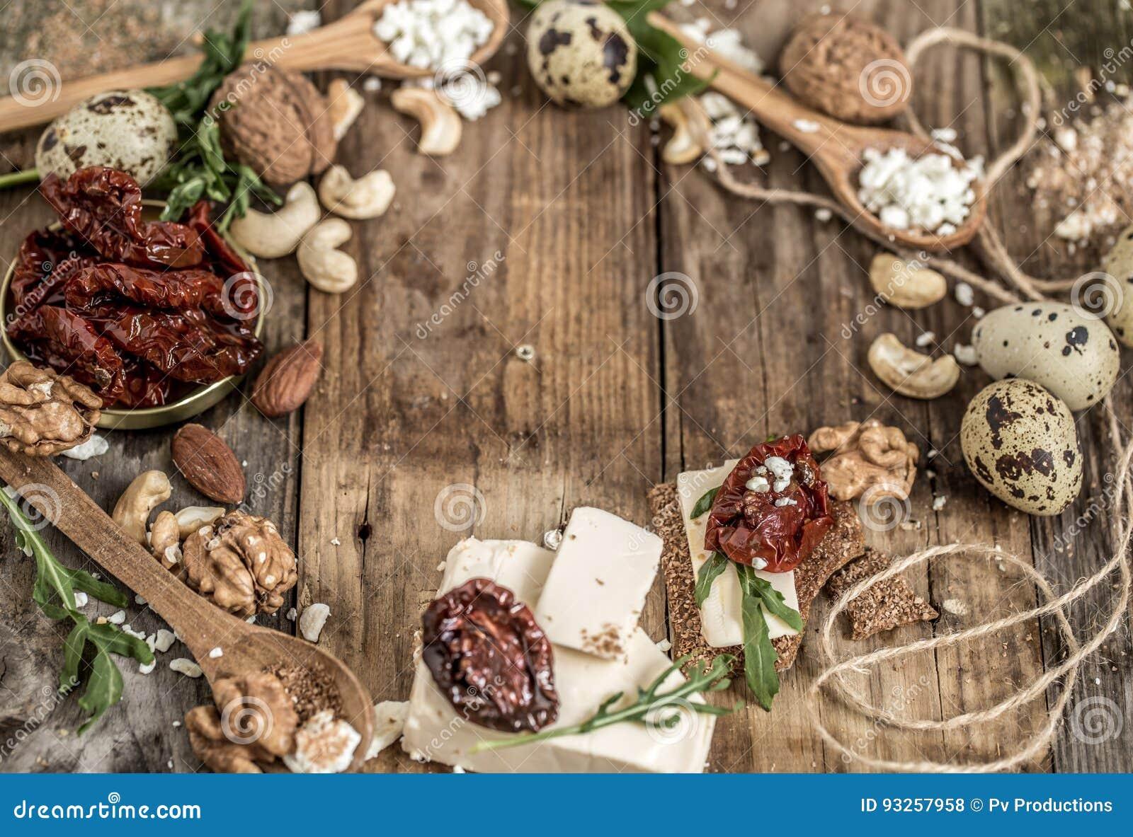 Διαφορετικοί τύποι συνθέσεων τυριών
