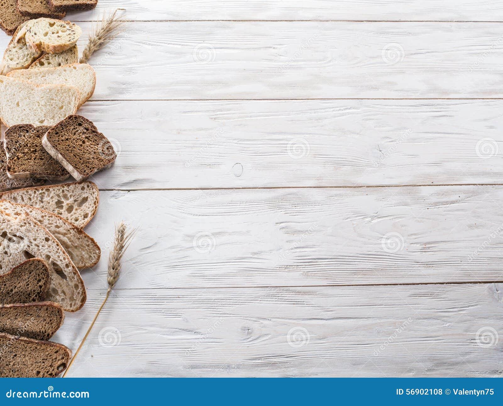 Διαφορετικοί τύποι τεμαχισμένων ψωμιών