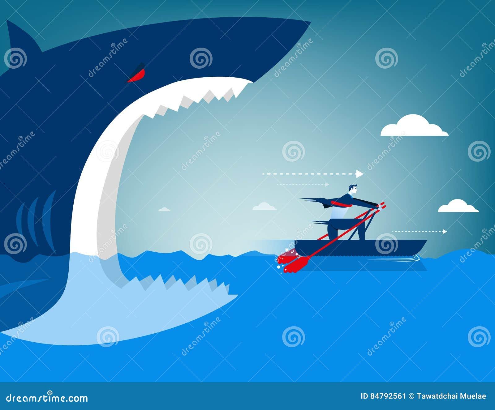Διαφυγή επιχειρηματιών στον καρχαρία