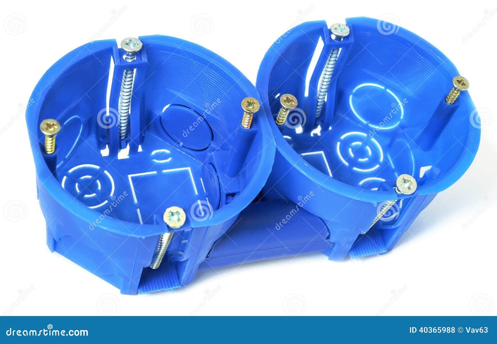 Διηλεκτρικά πλαστικά συνημμένα για τις ηλεκτρικές εξόδους και switche