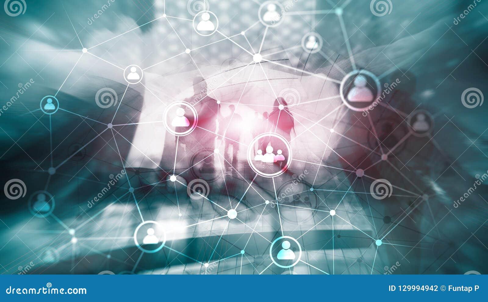 Διπλή δομή ωρ. δικτύων ανθρώπων έκθεσης - έννοια διαχείρισης και στρατολόγησης ανθρώπινων δυναμικών