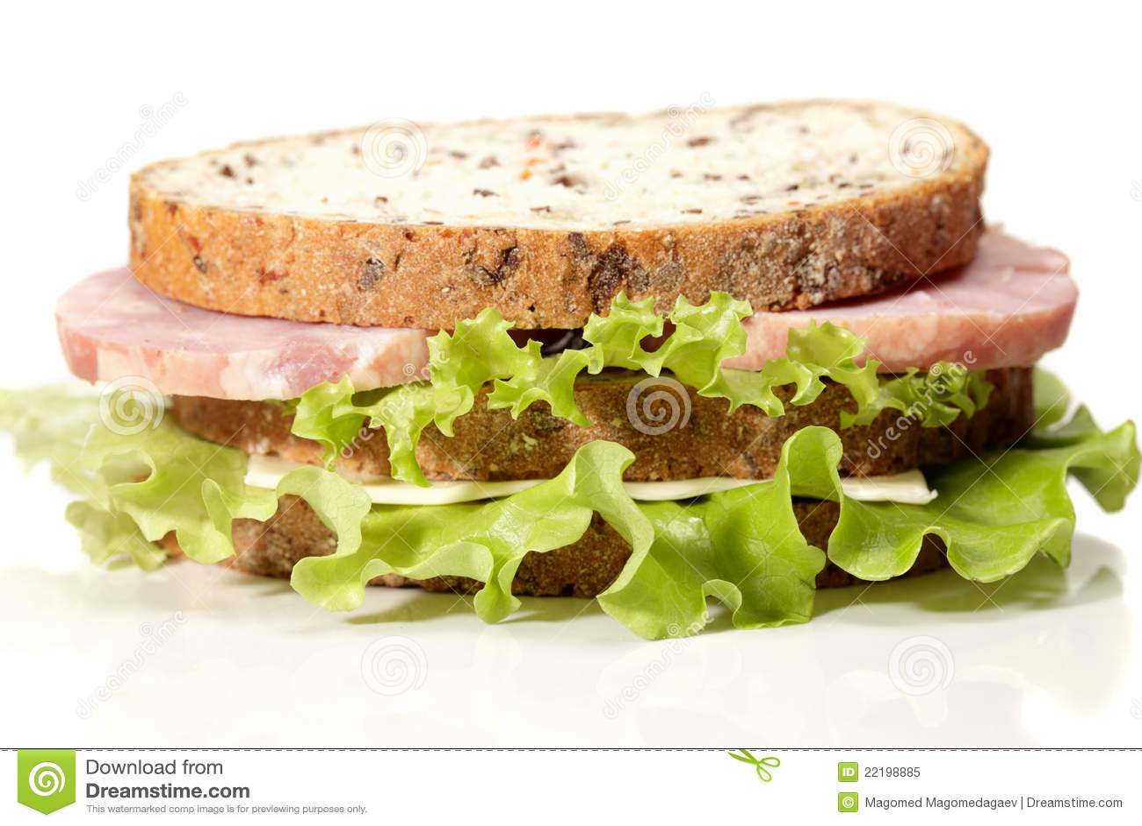 διπλό σάντουιτς ζαμπόν τυρ&i