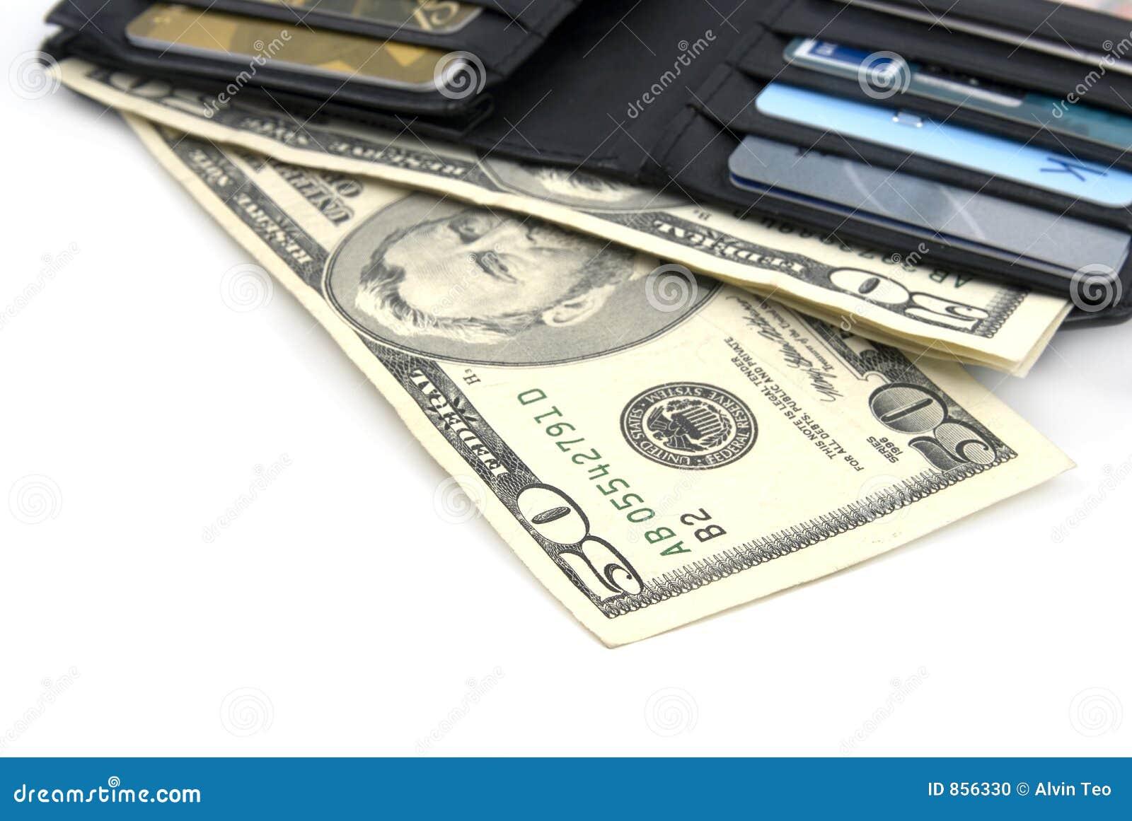 δολάρια εμείς πορτοφόλι