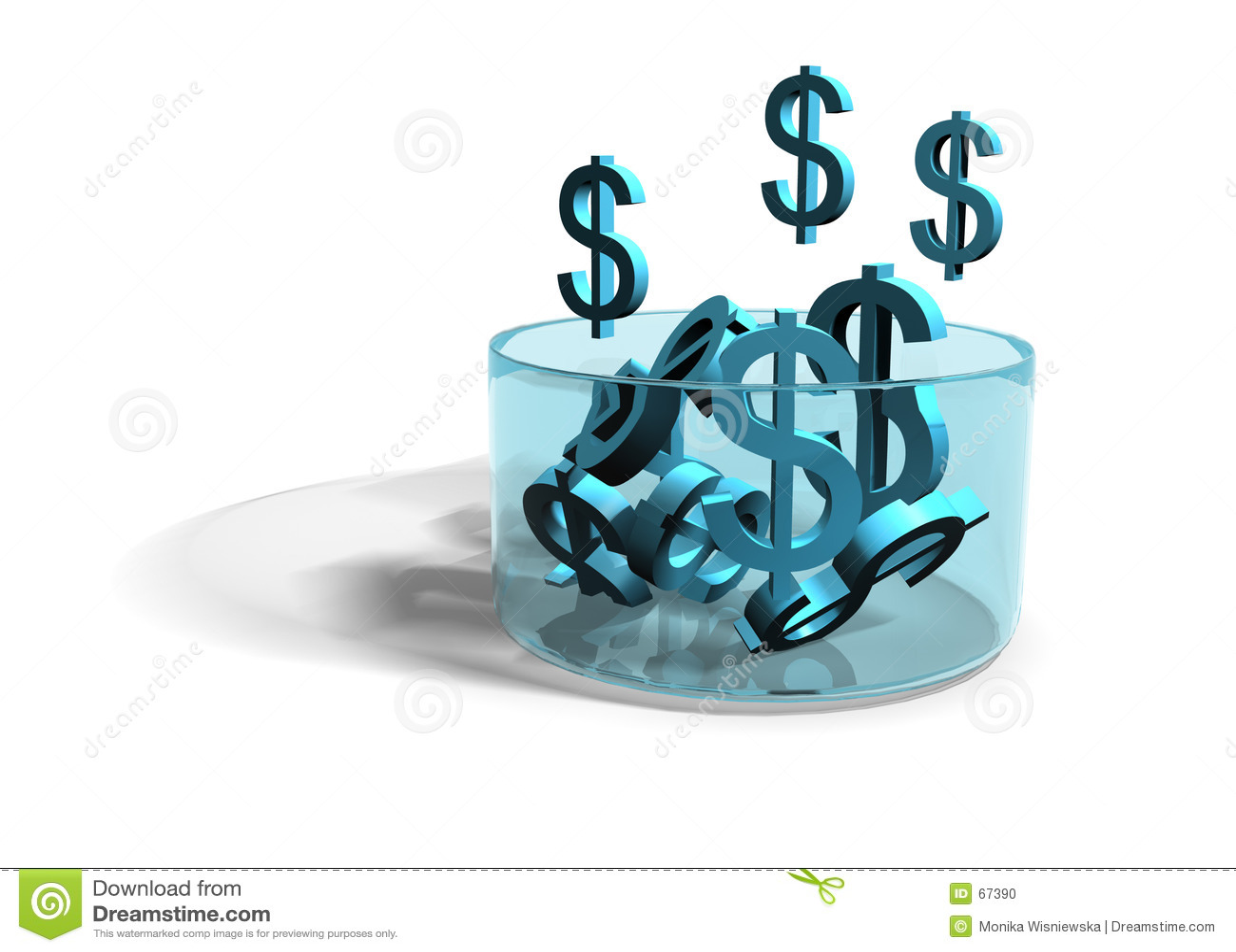 δολάρια που αναπτύσσουν το εισόδημα