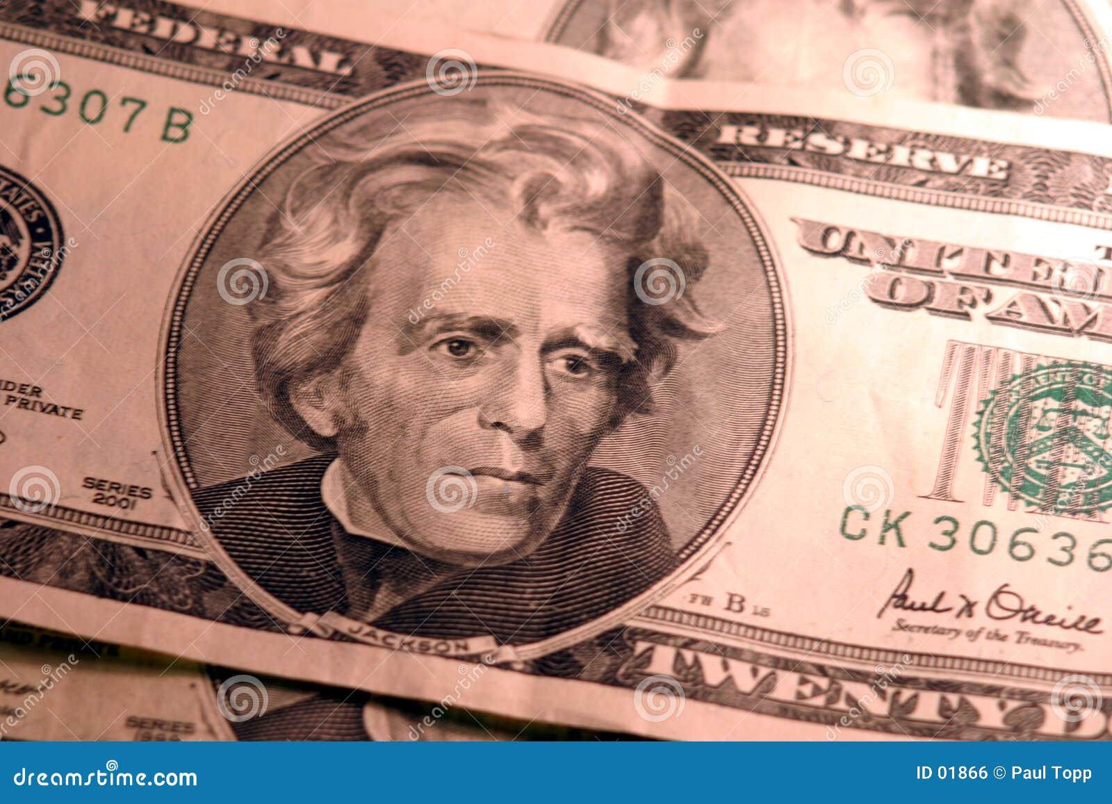 δολάριο 20 λογαριασμών