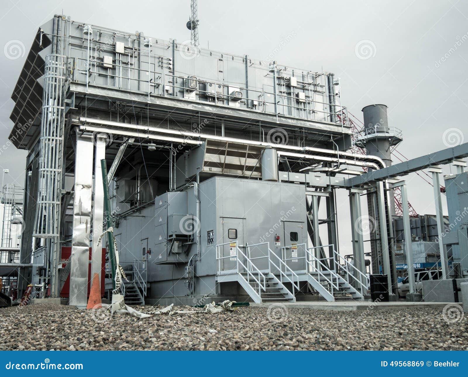 Δομή αεραγωγού εισαγωγής για τις εγκαταστάσεις παραγωγής ενέργειας