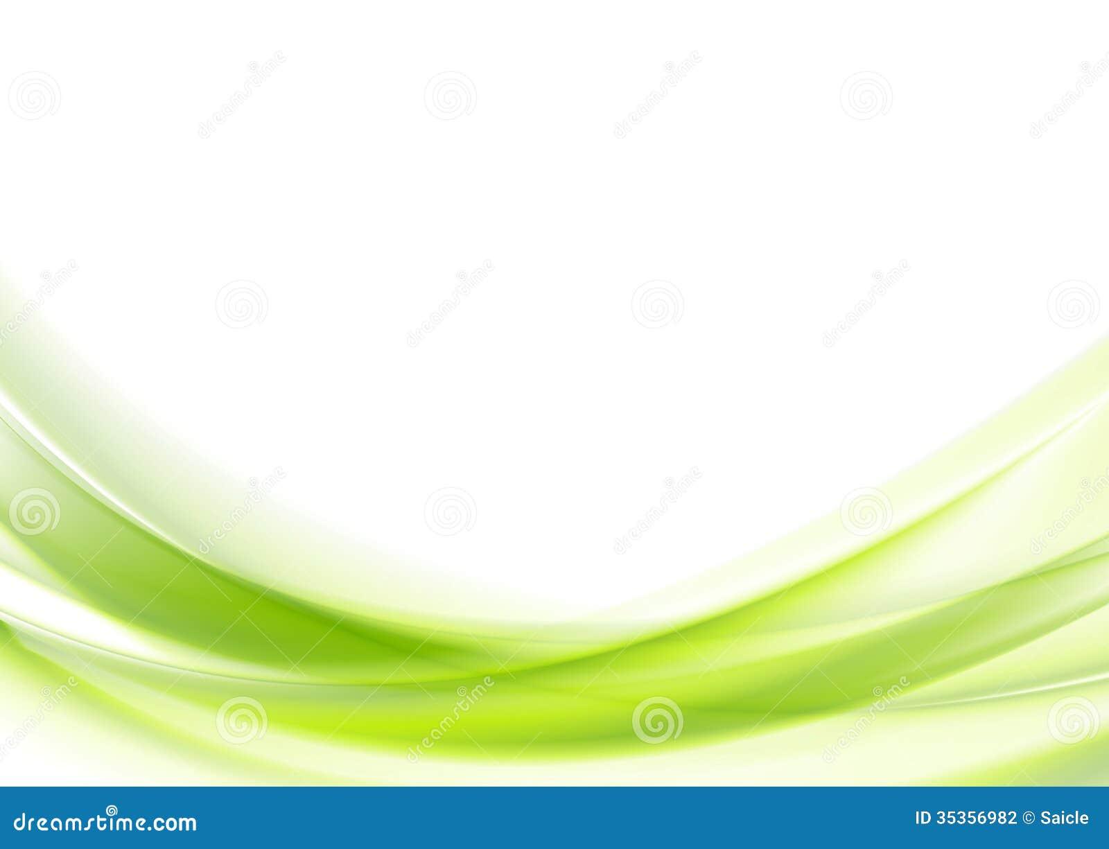 Δονούμενο πράσινο κυματιστό διανυσματικό σχέδιο