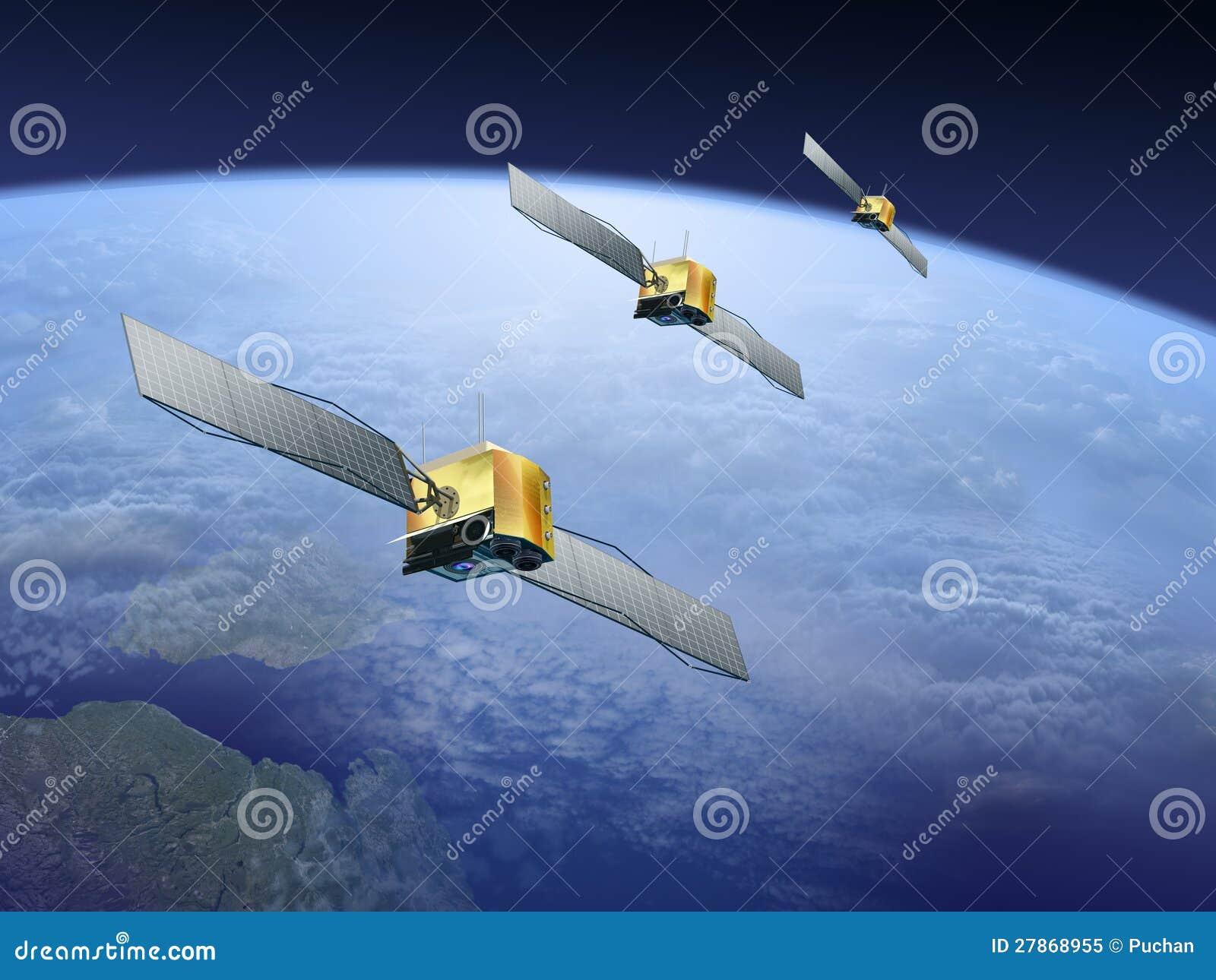 Δορυφόροι πέρα από τη γη