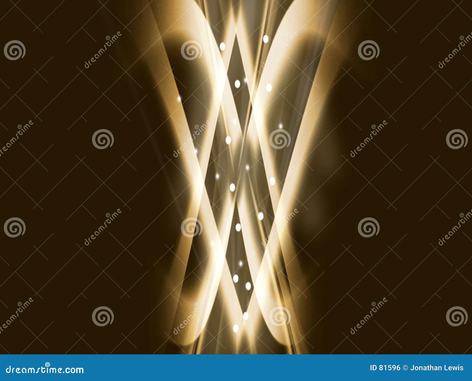 δραματικός χρυσός φυσήμα&ta