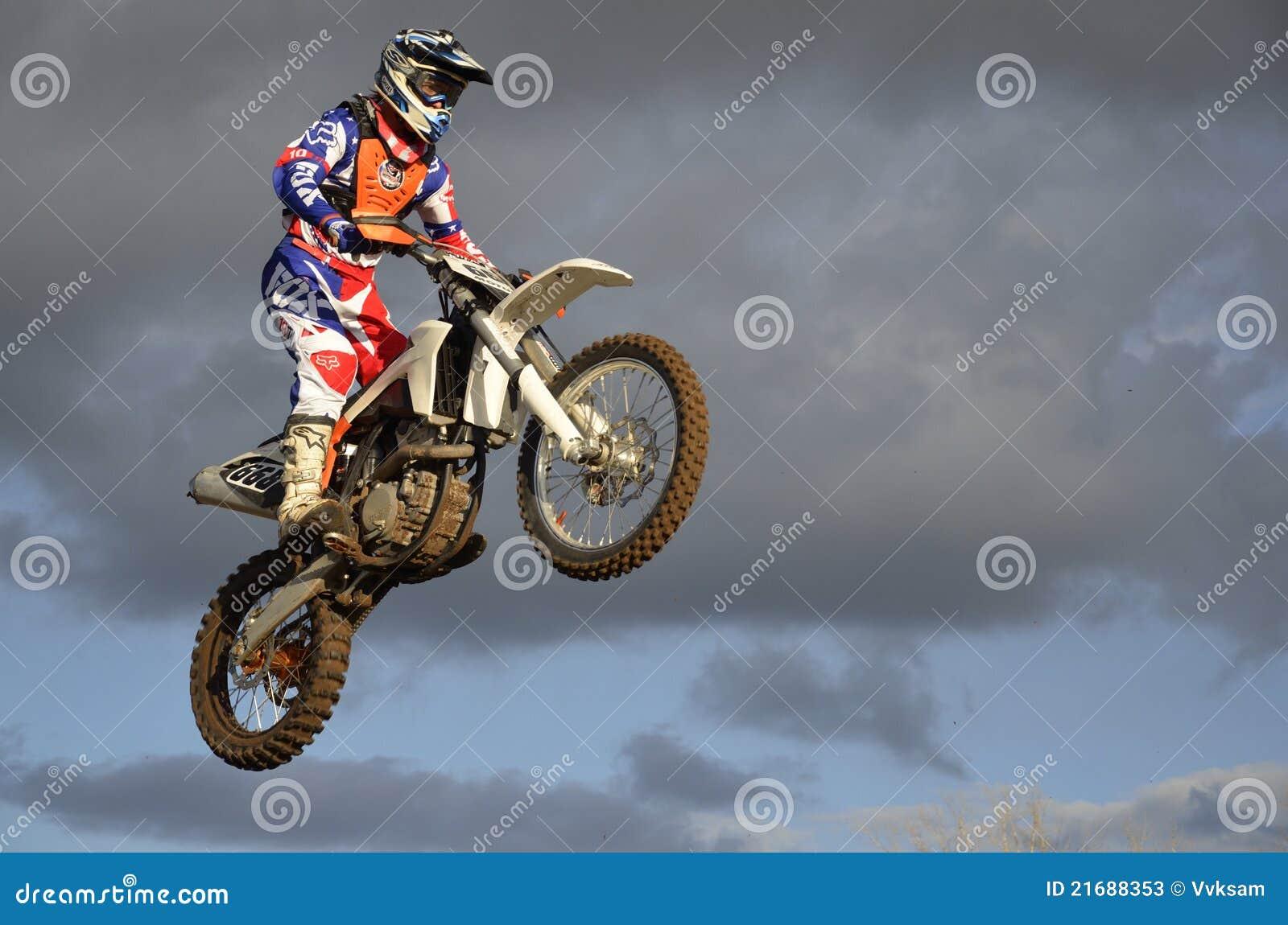 δρομέας μοτοσικλετών Moto ά&lambda Εκδοτική Στοκ Εικόνες