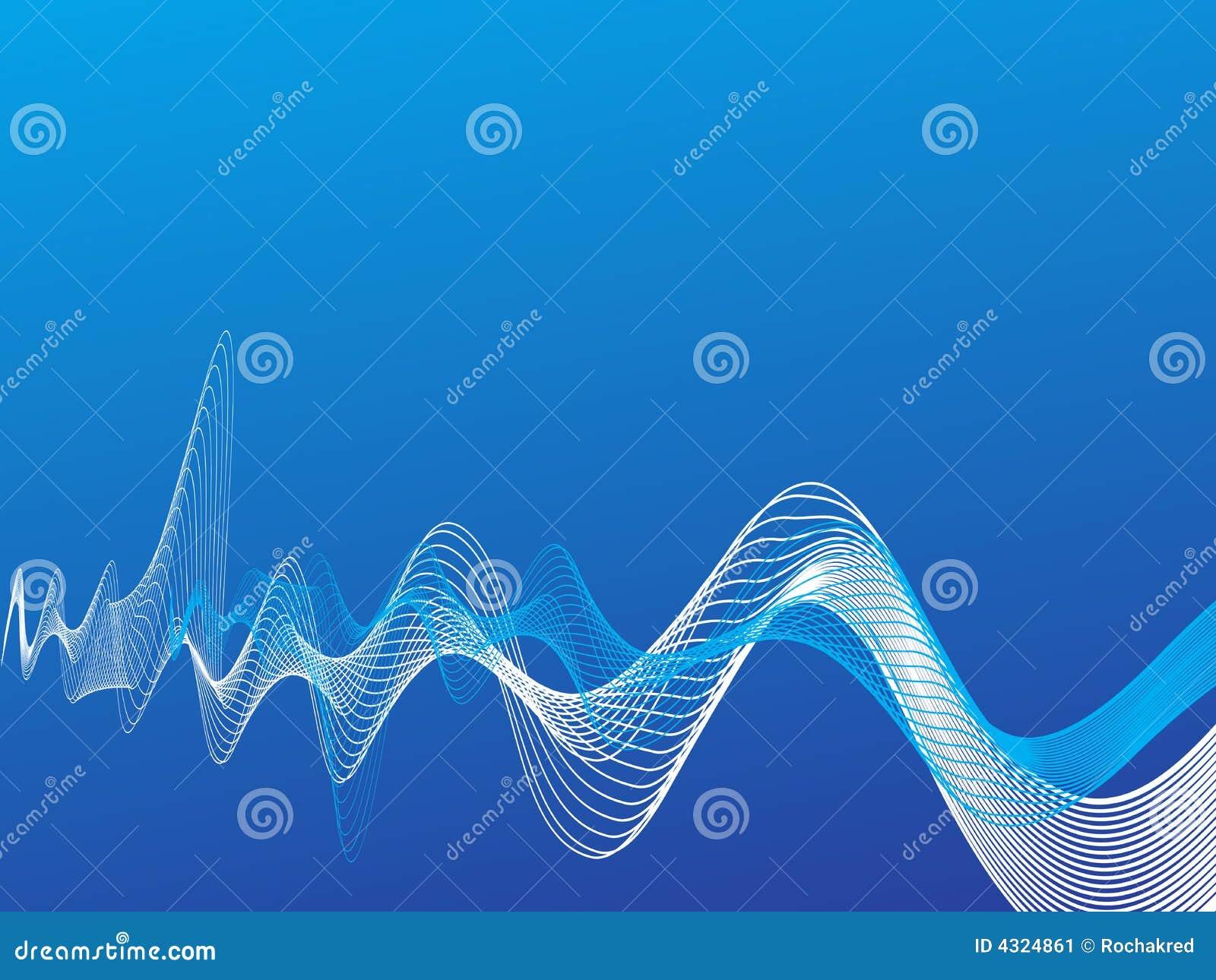 δροσερά διανυσματικά κύματα